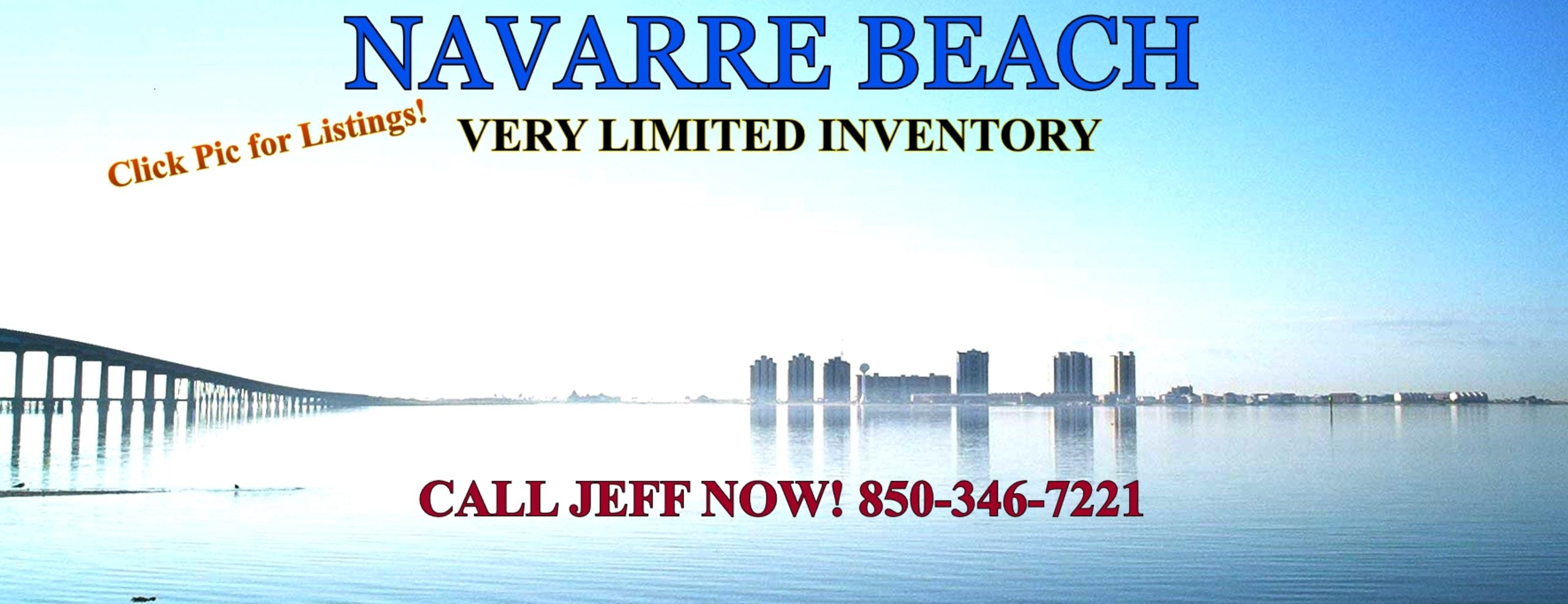 Click Here for Navarre Beach Homes