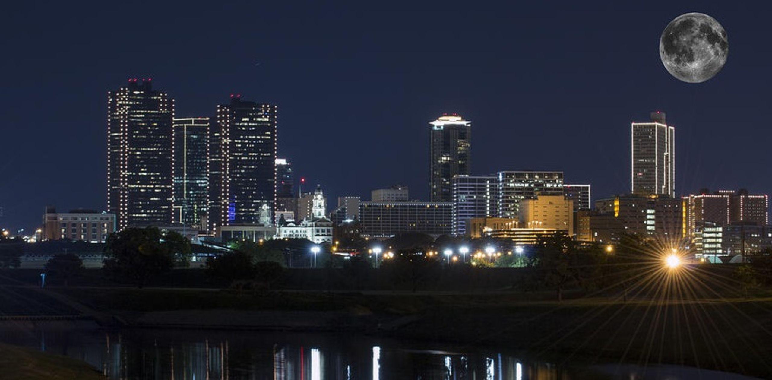 Ft Worth Skyline