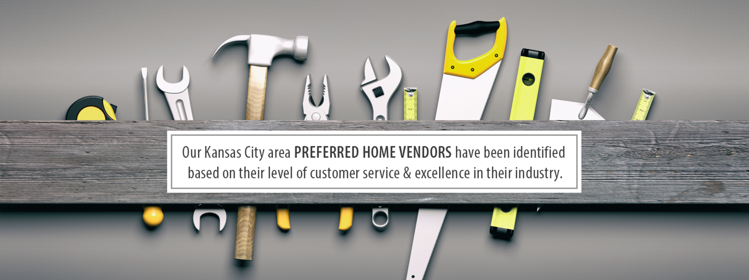 View our list of trusted KC vendors  {{ CLICK HERE }}