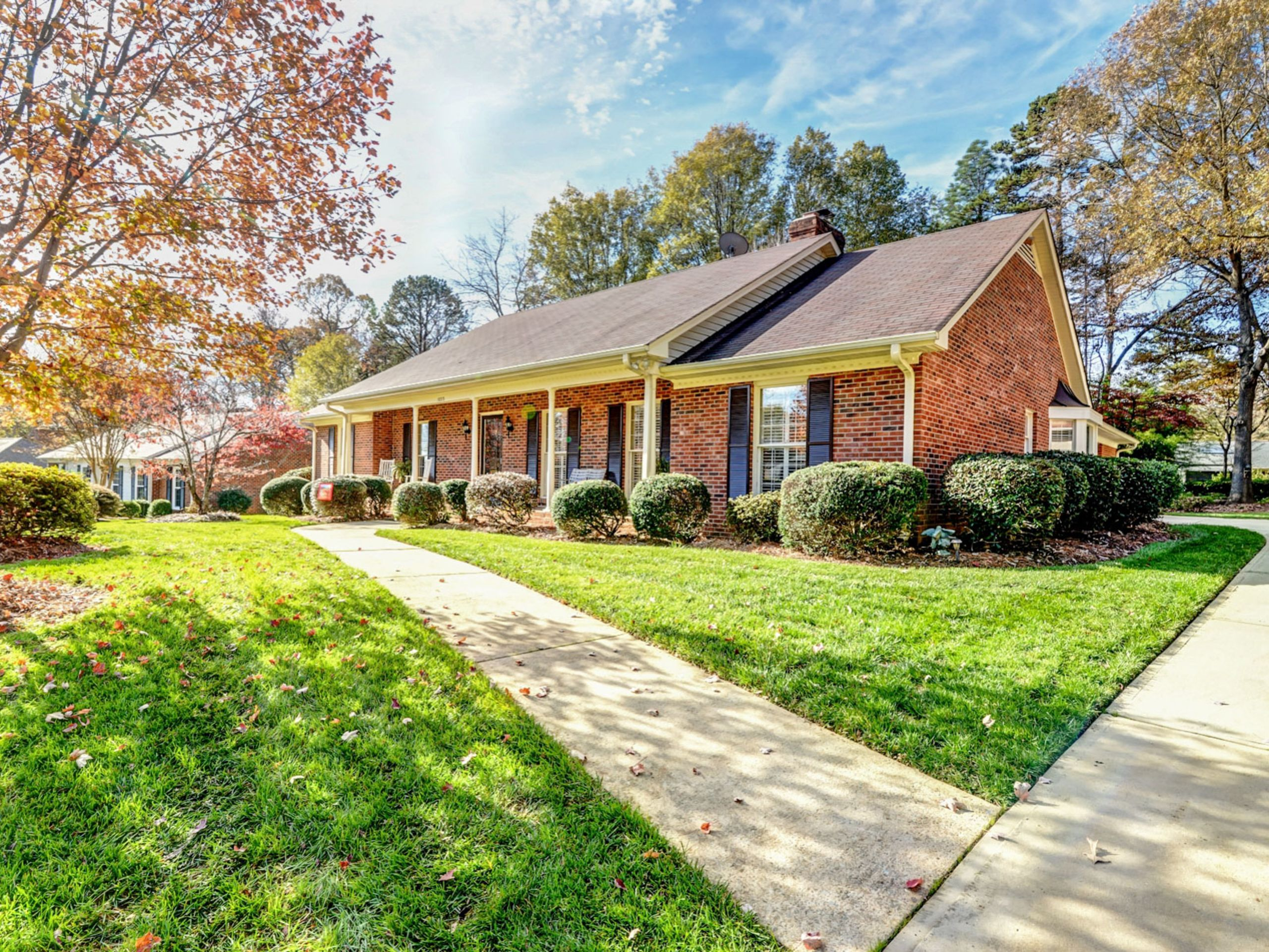 Charming brick home in established neighborhood