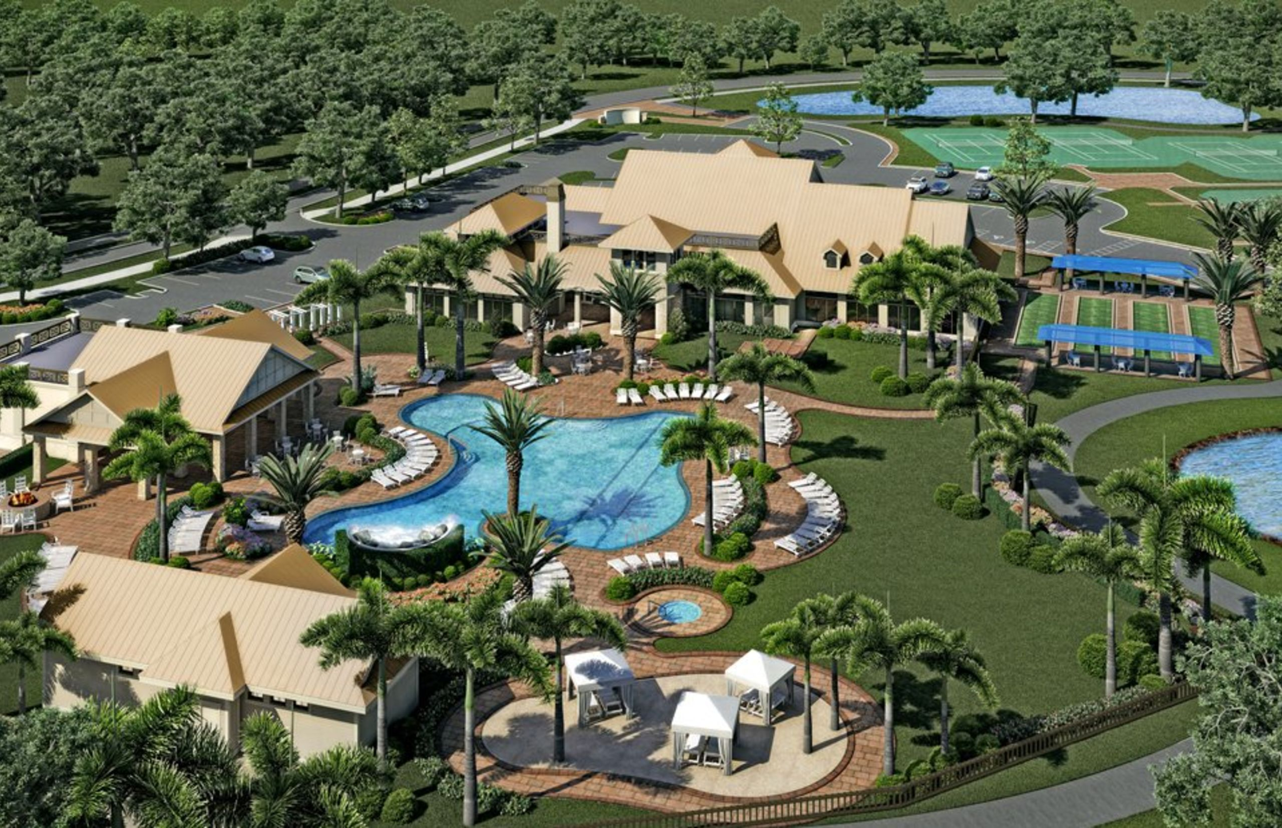 Winding Cypress Amenity Center Rendering