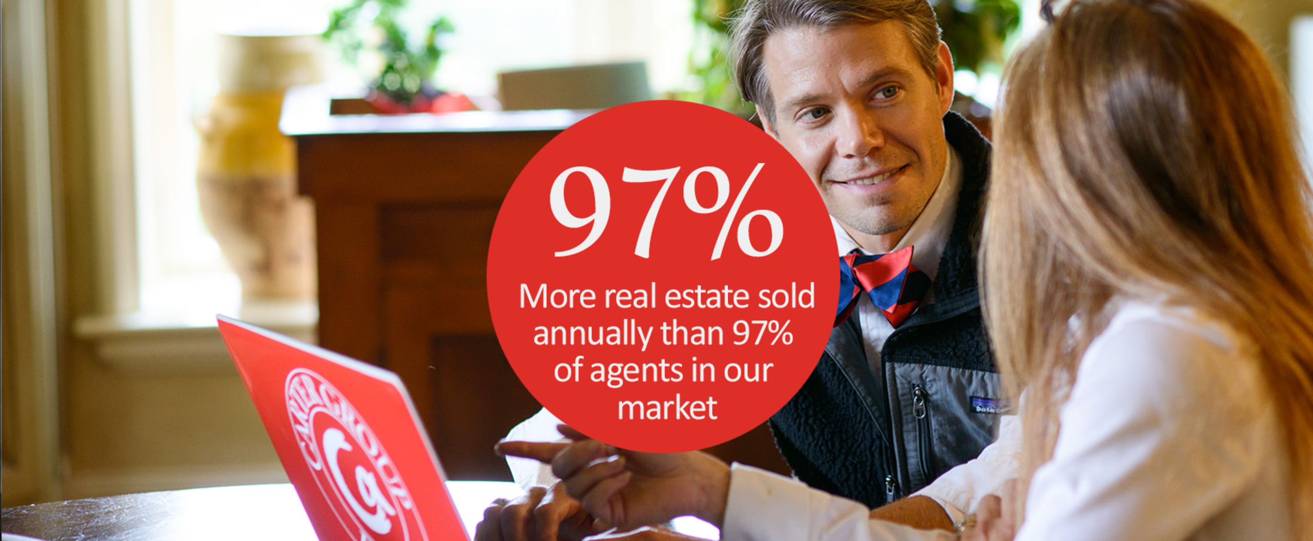 Selling more real estate annually than 97% of agents in our market