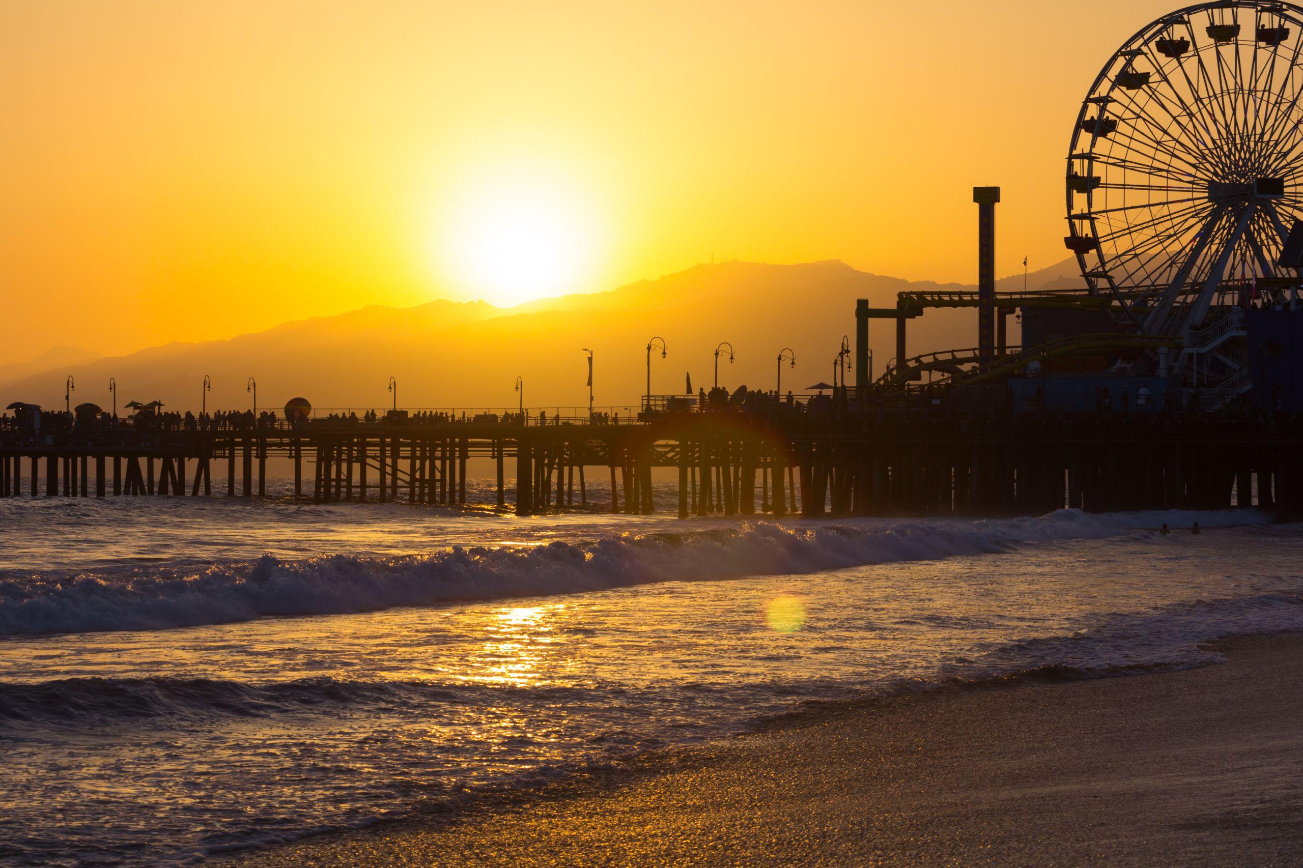 Santa Monica, CA Pier
