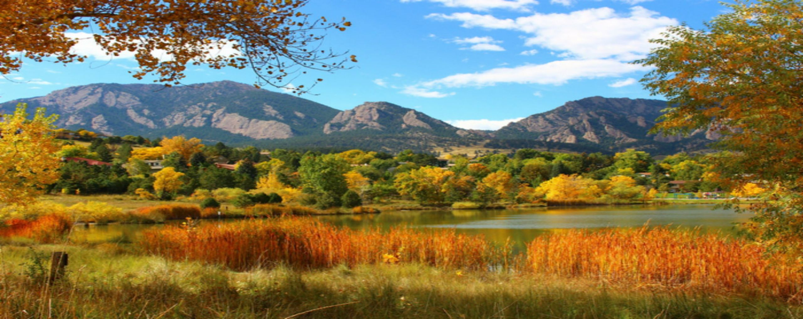 Fall in Boulder
