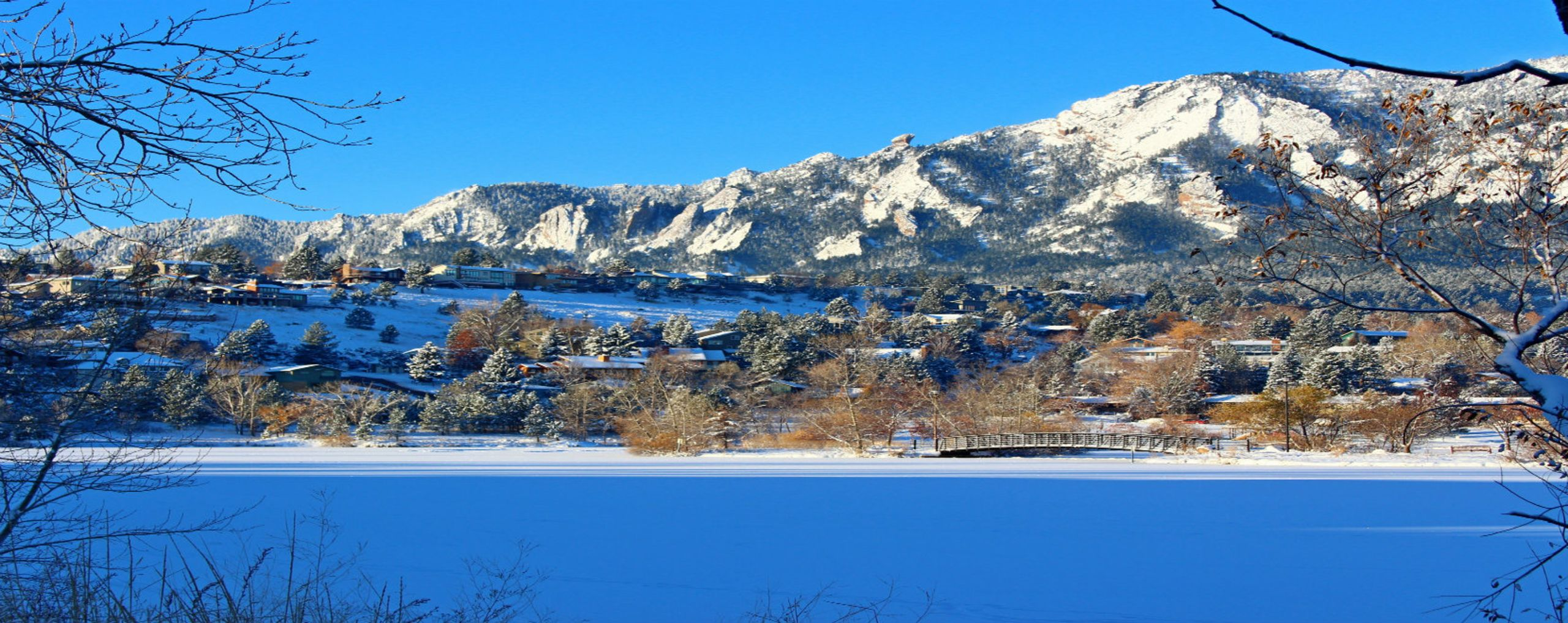Winter in South Boulder