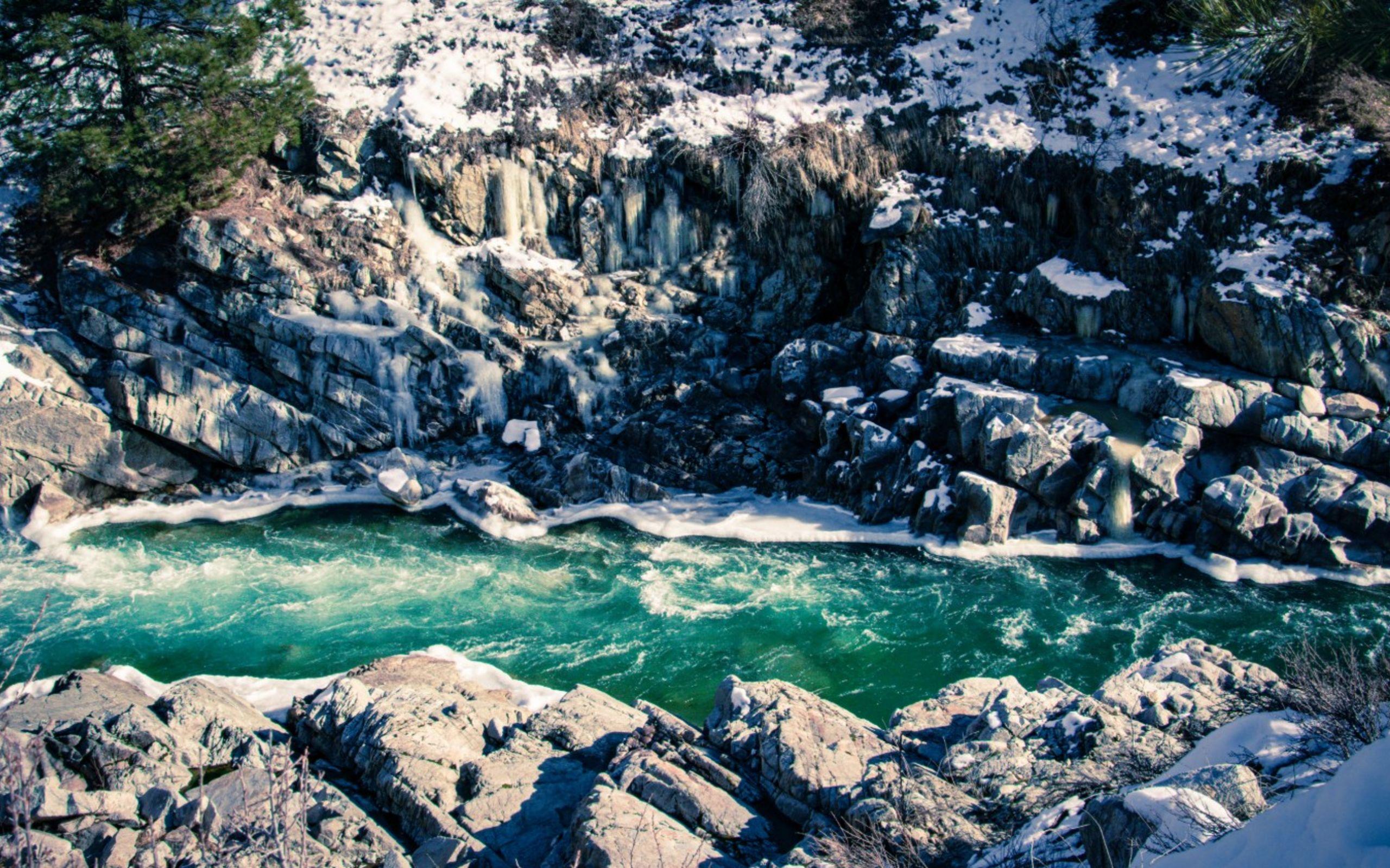 Kirkham Hot Springs in Lowman, ID (Photo courtesy of Tatiana Myers)