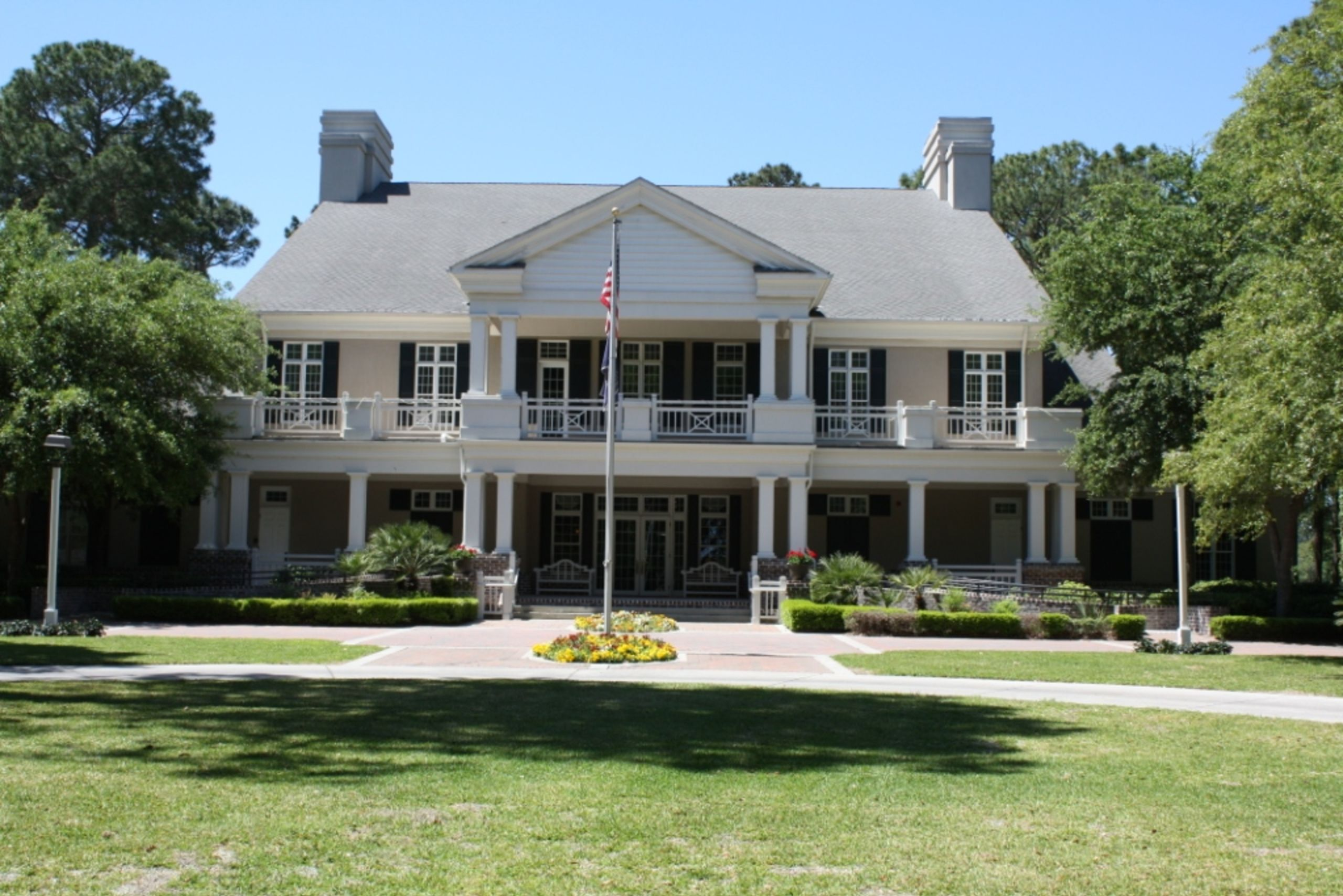 Palmetto Hall's Clubhouse