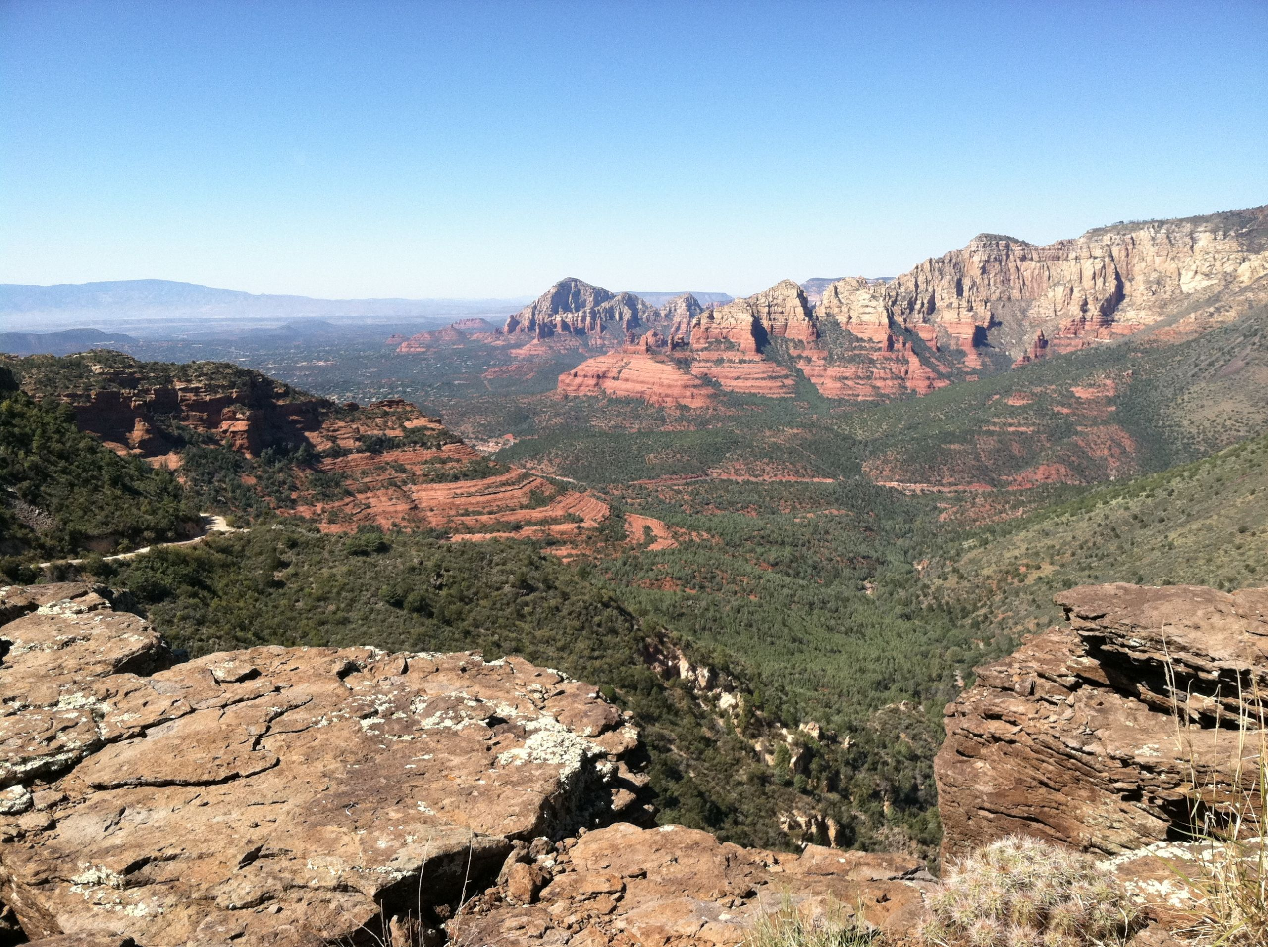 Sedona from the Rim