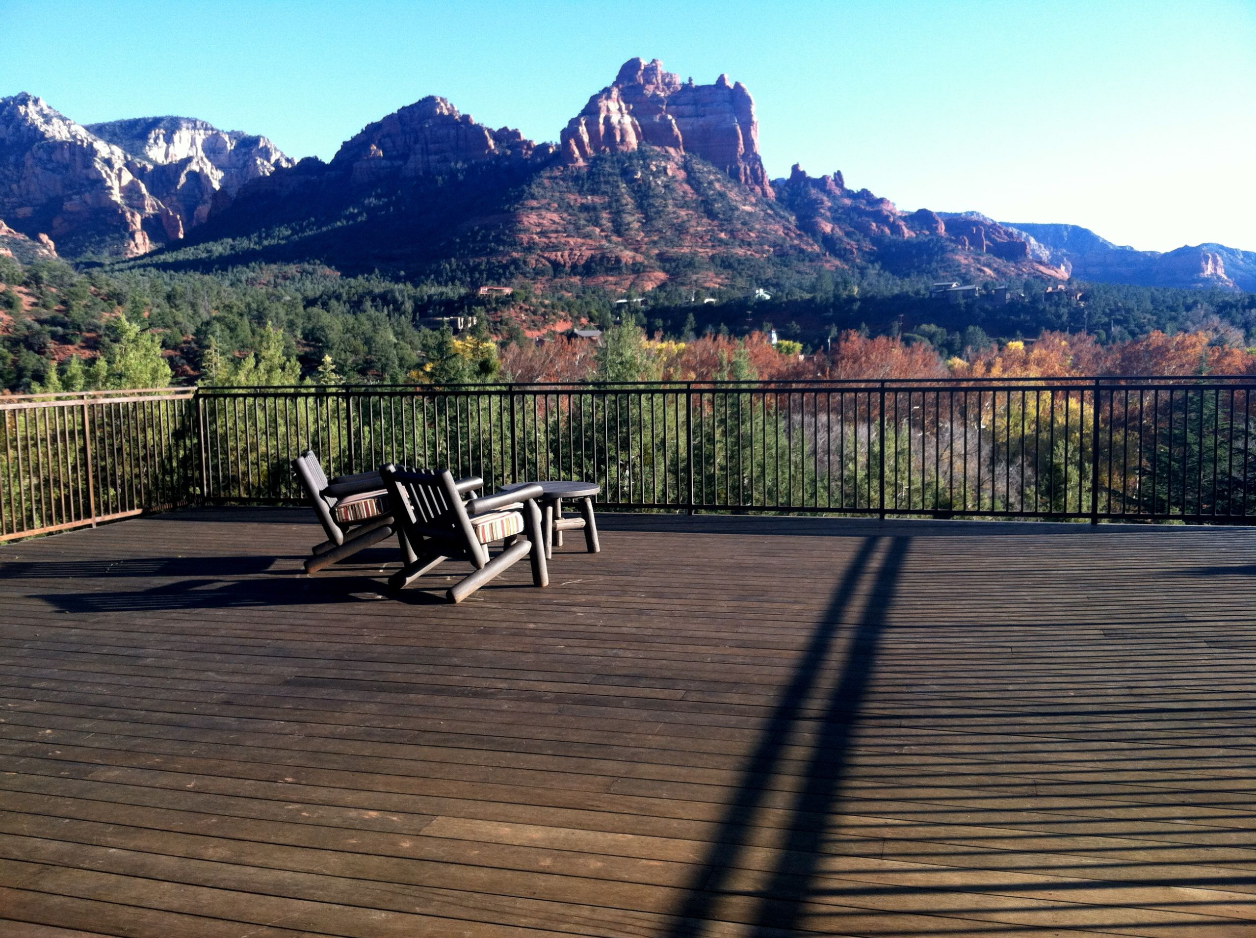 Taking in Sedona