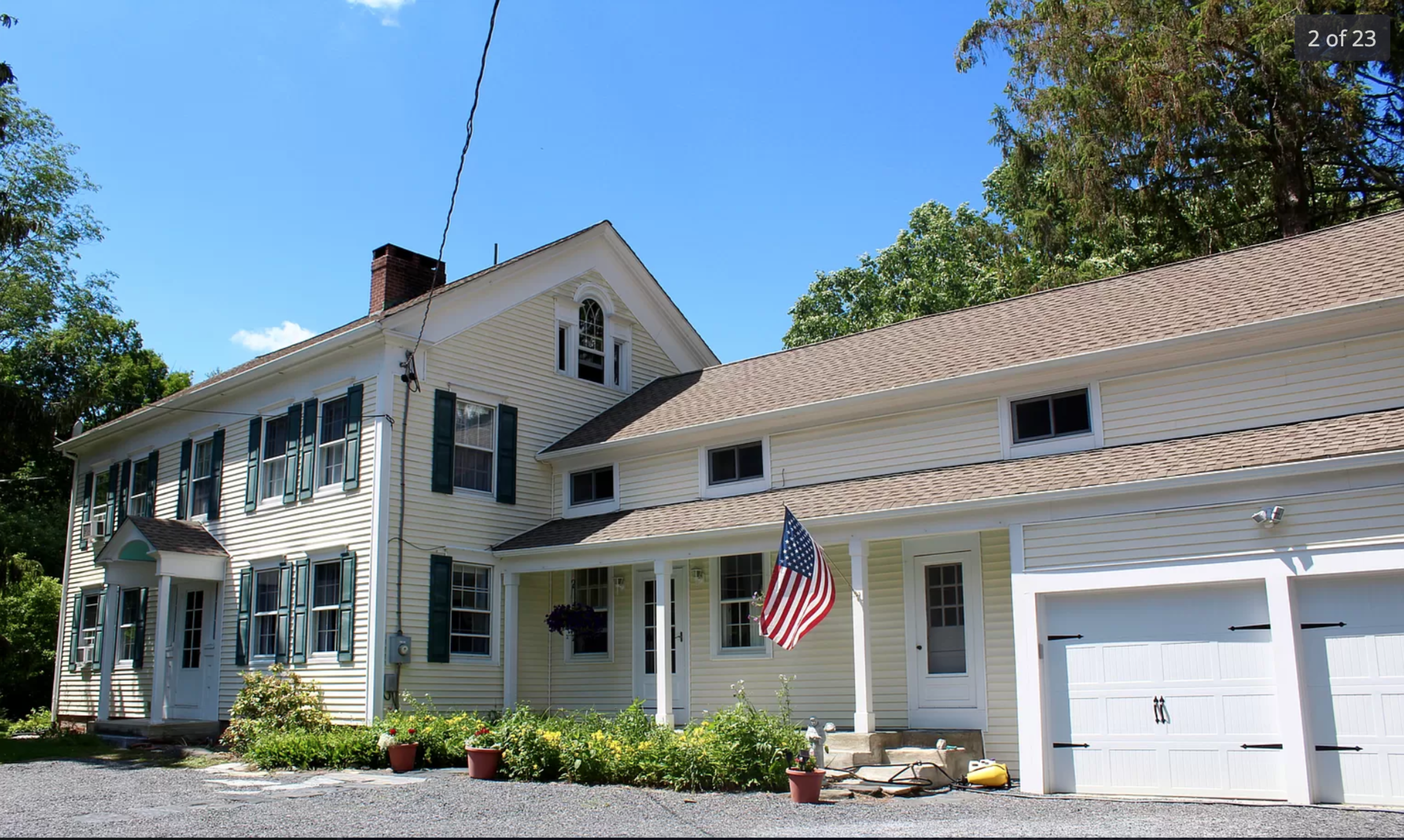 FEATURED LISTING:  Charming 1870's Farmhouse on 7.6 Beautiful Acres in Millerton NY  $395,000