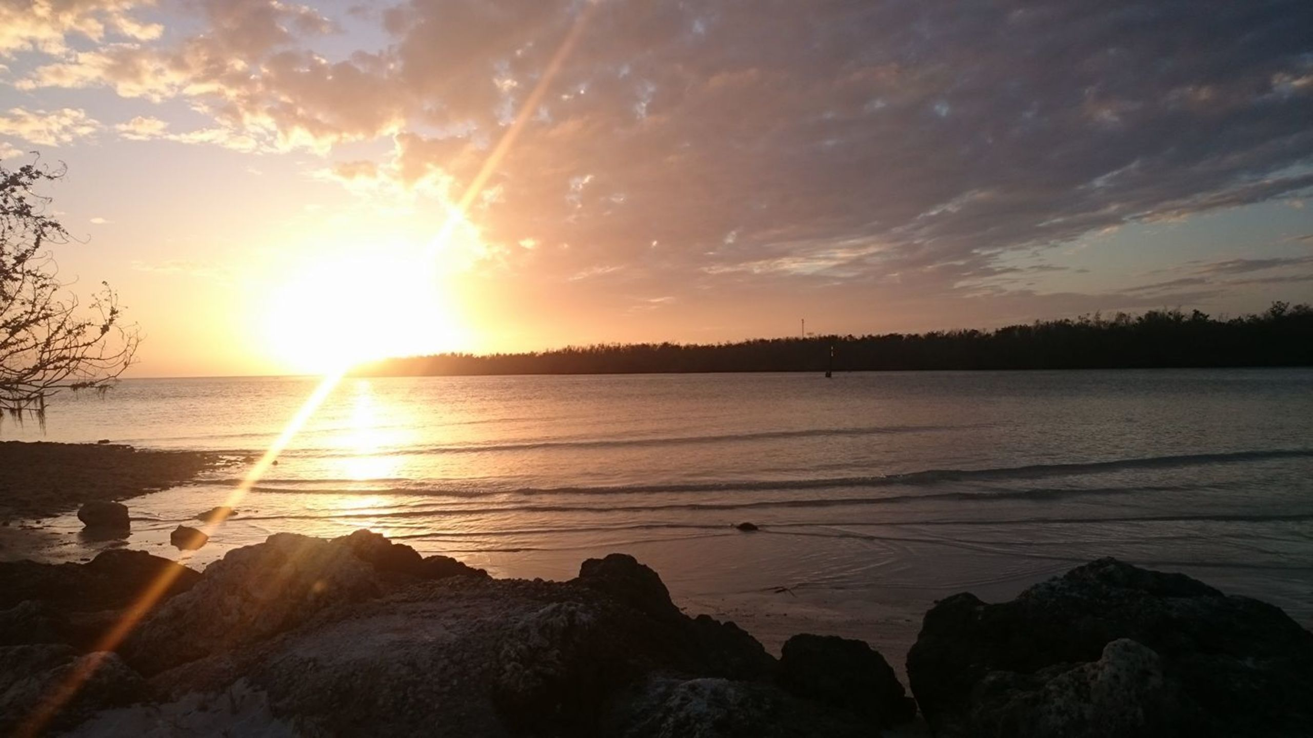 Sunset at Sombrero Beach