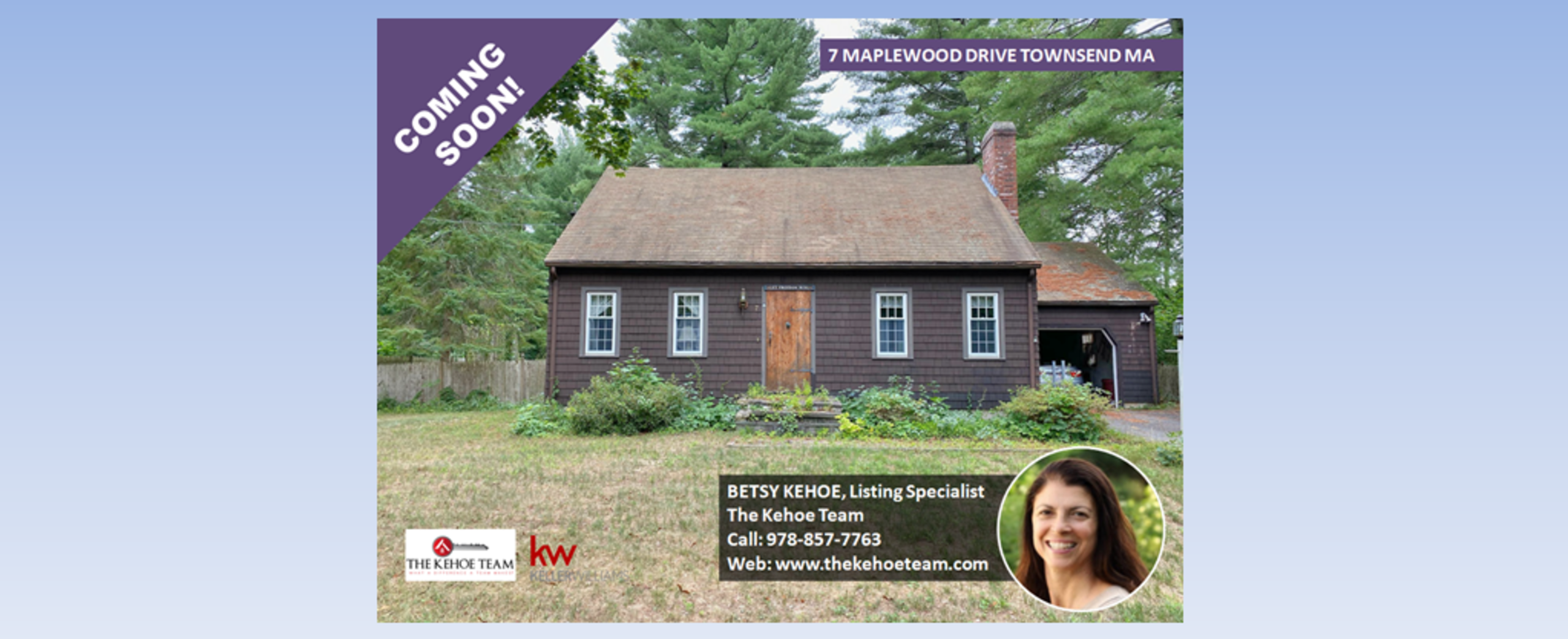 COMING SOON - 7 MAPLEWOOD DRIVE TOWNSEND MA
