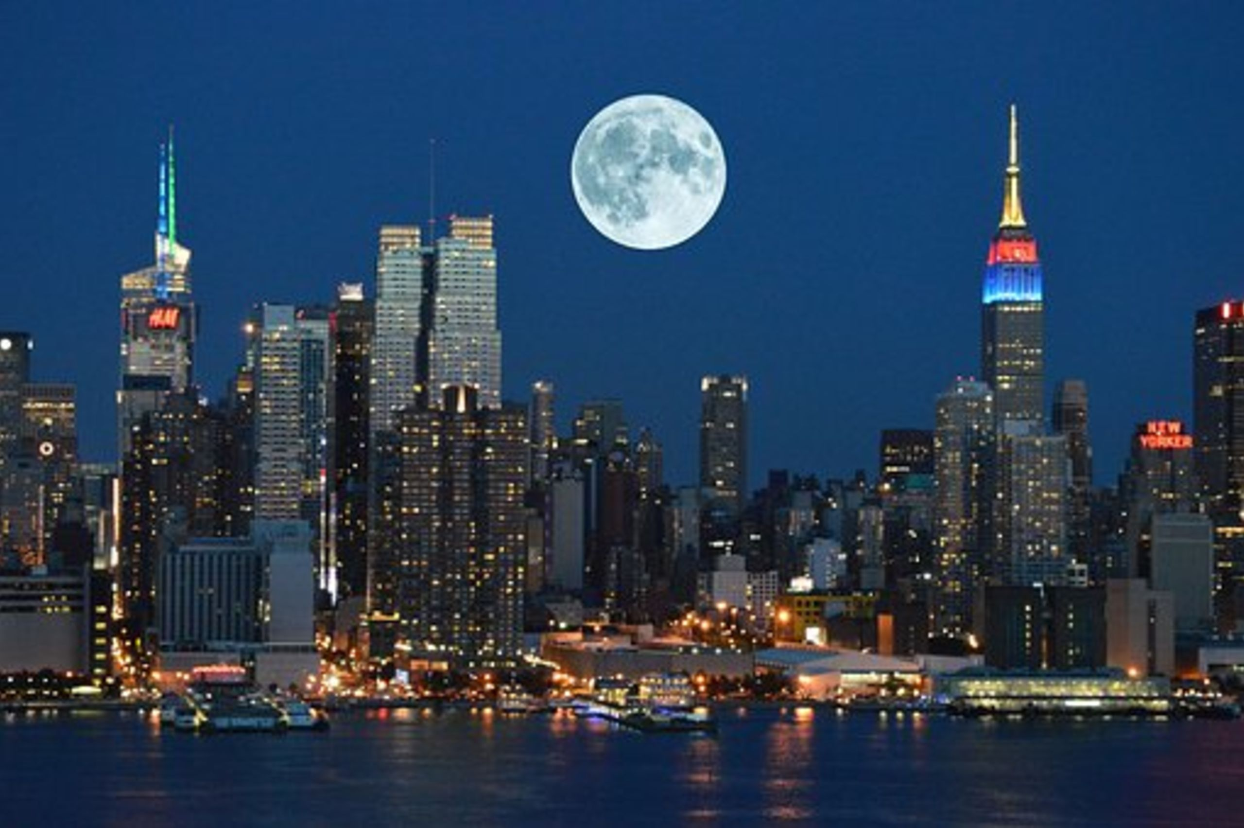 New York-The City that never sleeps.