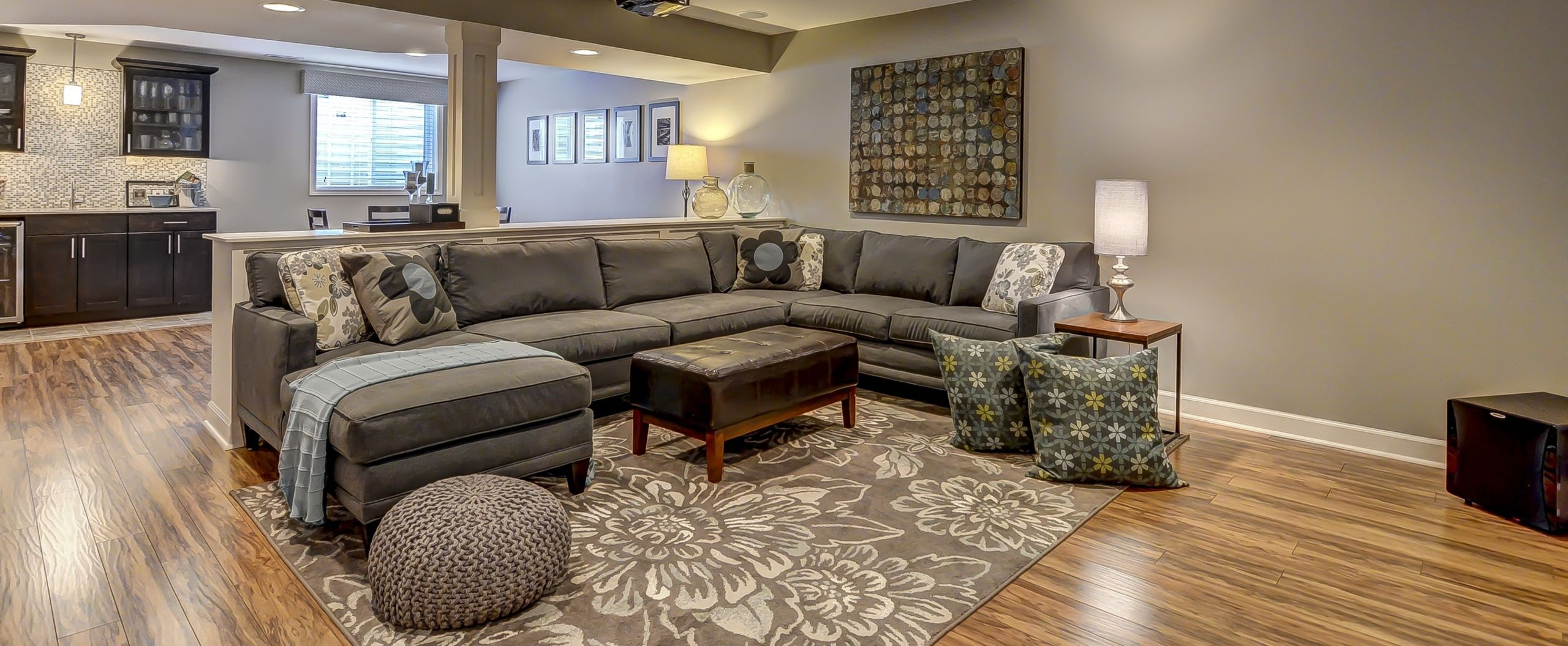 Great Space for Family Living and Entertaining