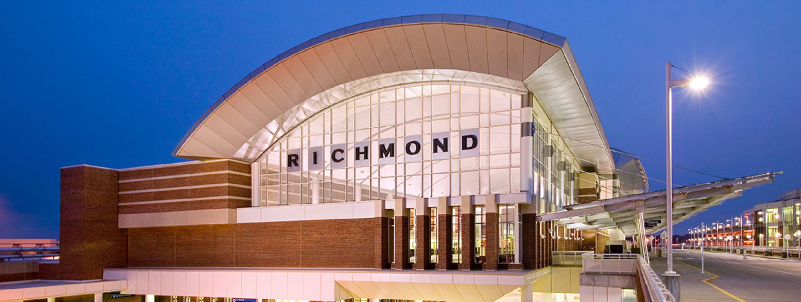 Easy access to and from the Richmond region