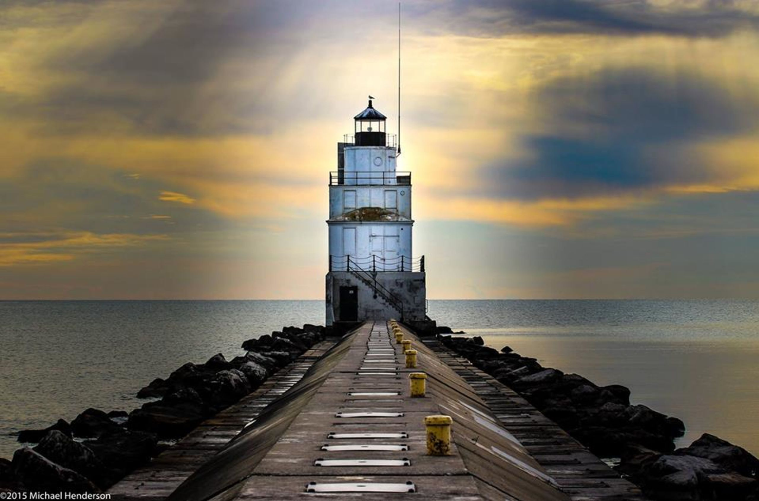 Local lighthouse in Manitowoc
