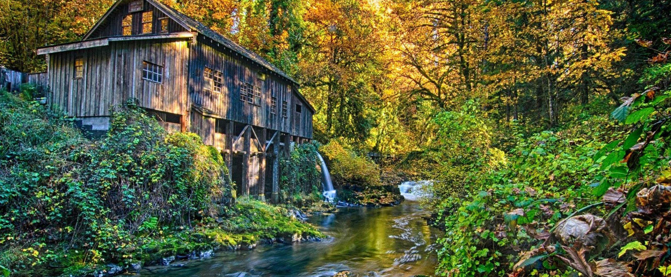 Grist Mill, Woodland, WA