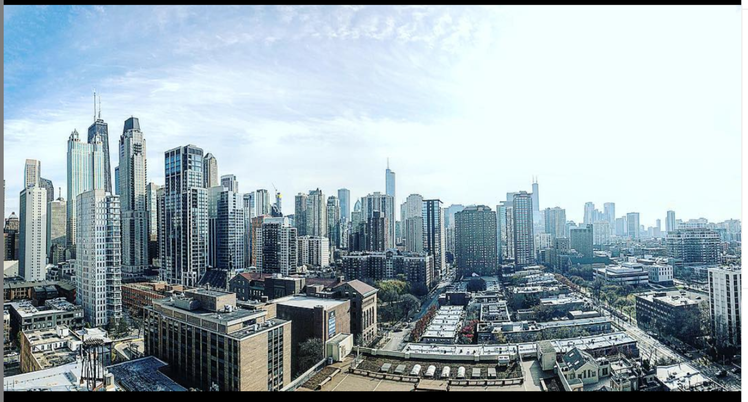 Chicago. It's home.