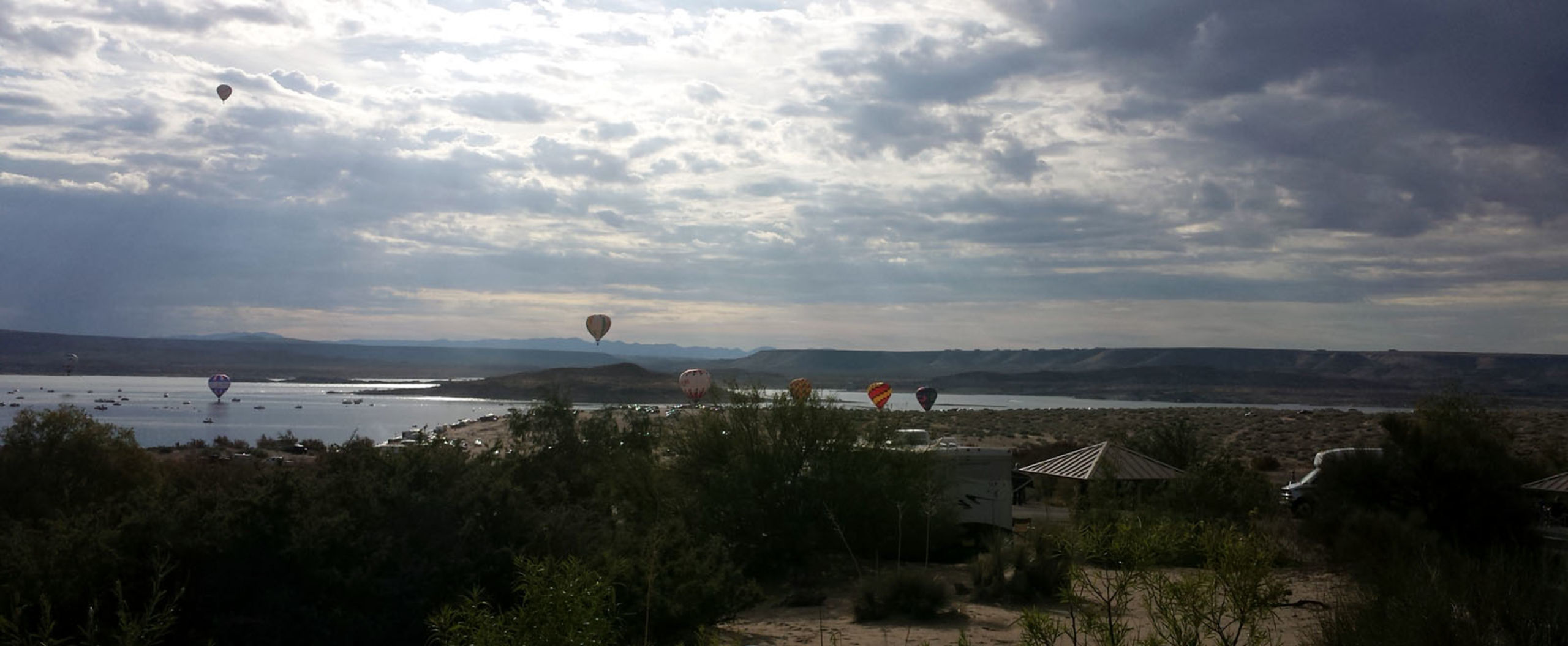 Boundless natural beauty, camping, fishing, boating, ballooning, and water sports right in our back yard