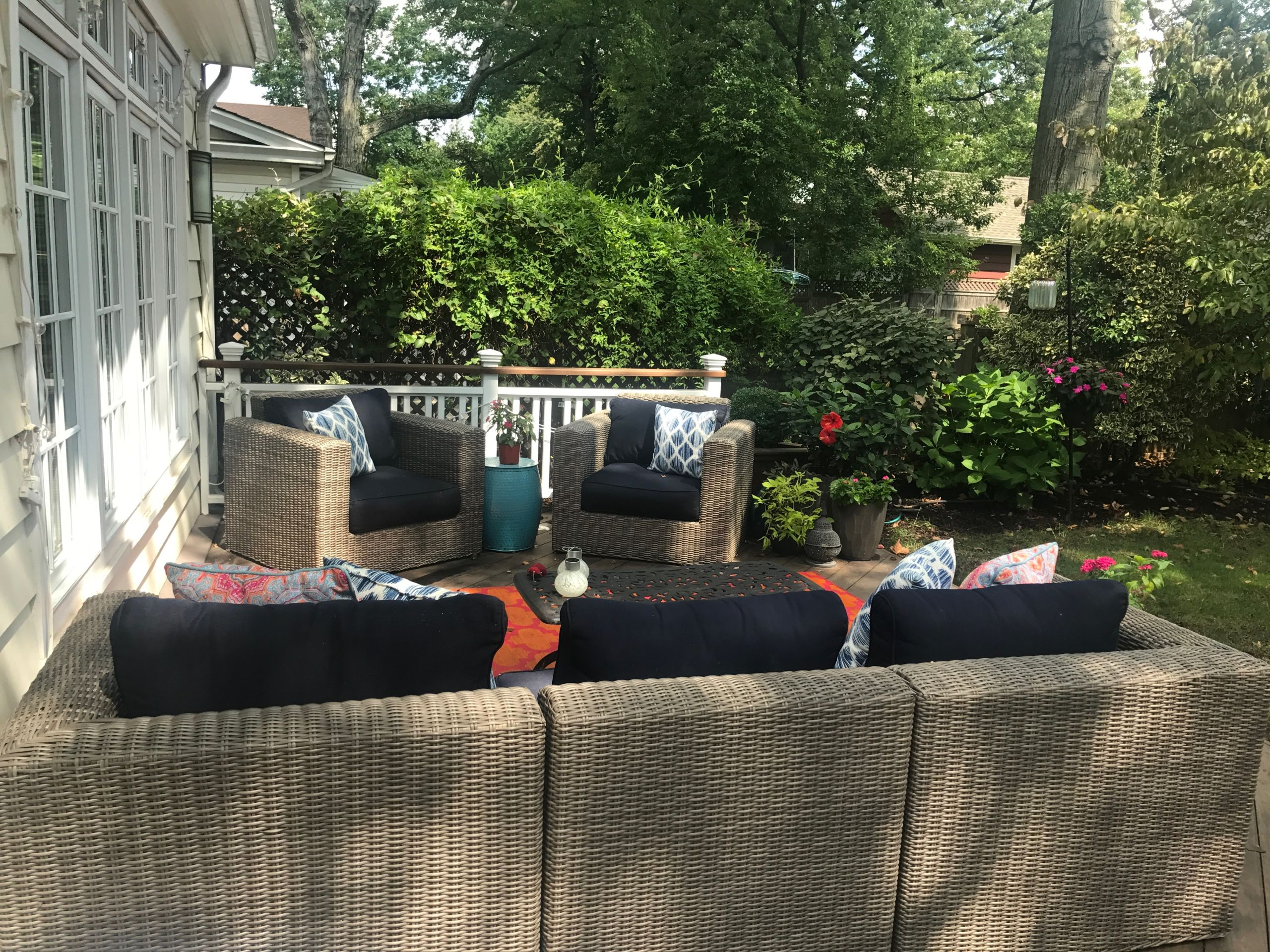 Backyards made for lounging