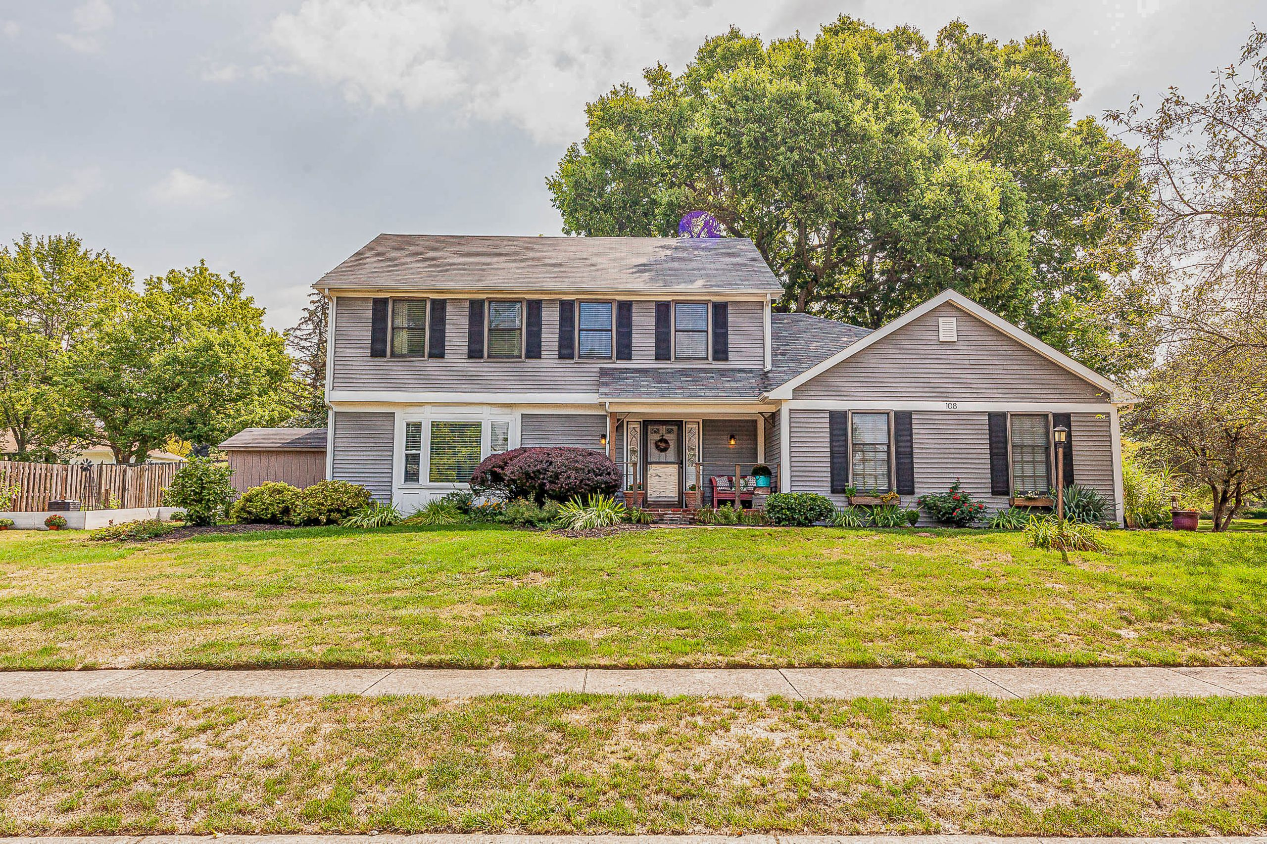 Sold! 108 Goldenrod Lane, Fishers, IN 46038 4 bed/2.5 bath with finished basement.  $289,900