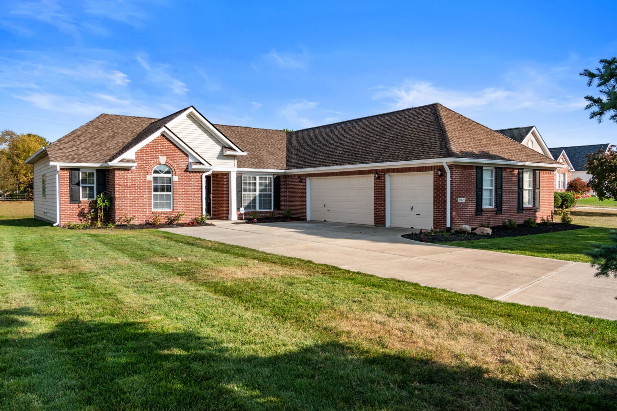 SOLD!  New neighborhood record in Spyglass Falls in Fishers.