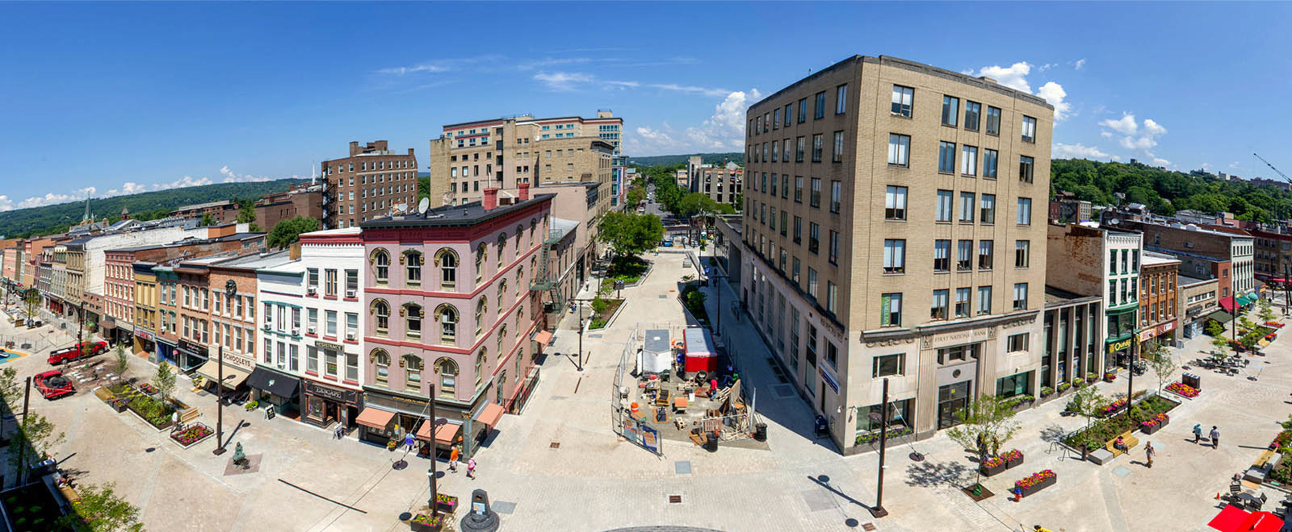 The Beautiful Ithaca Commons