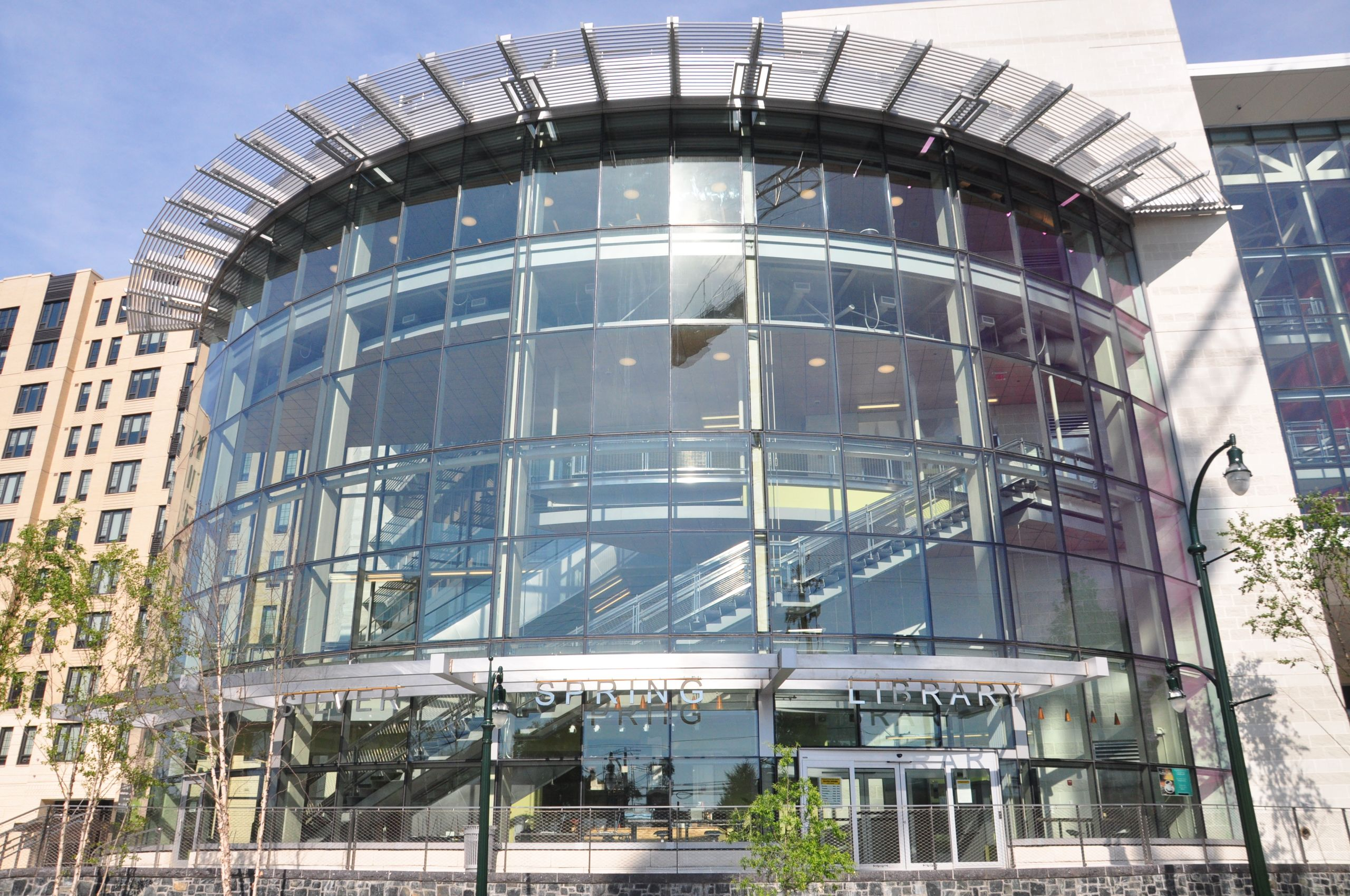 The new Silver Spring Library