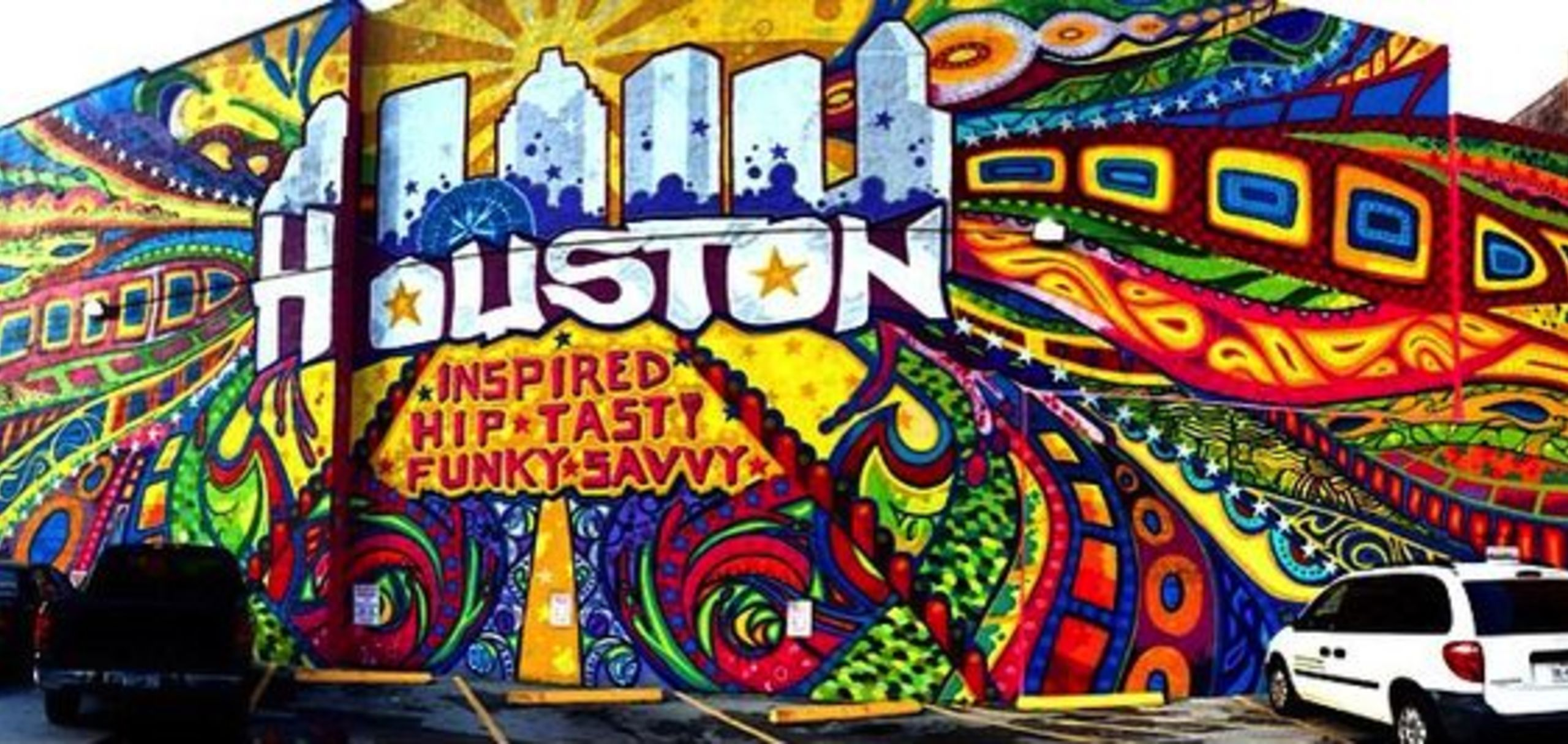 Houston--America's most diversified city! Inspire, Hip, Tasty, Funky, Savvy