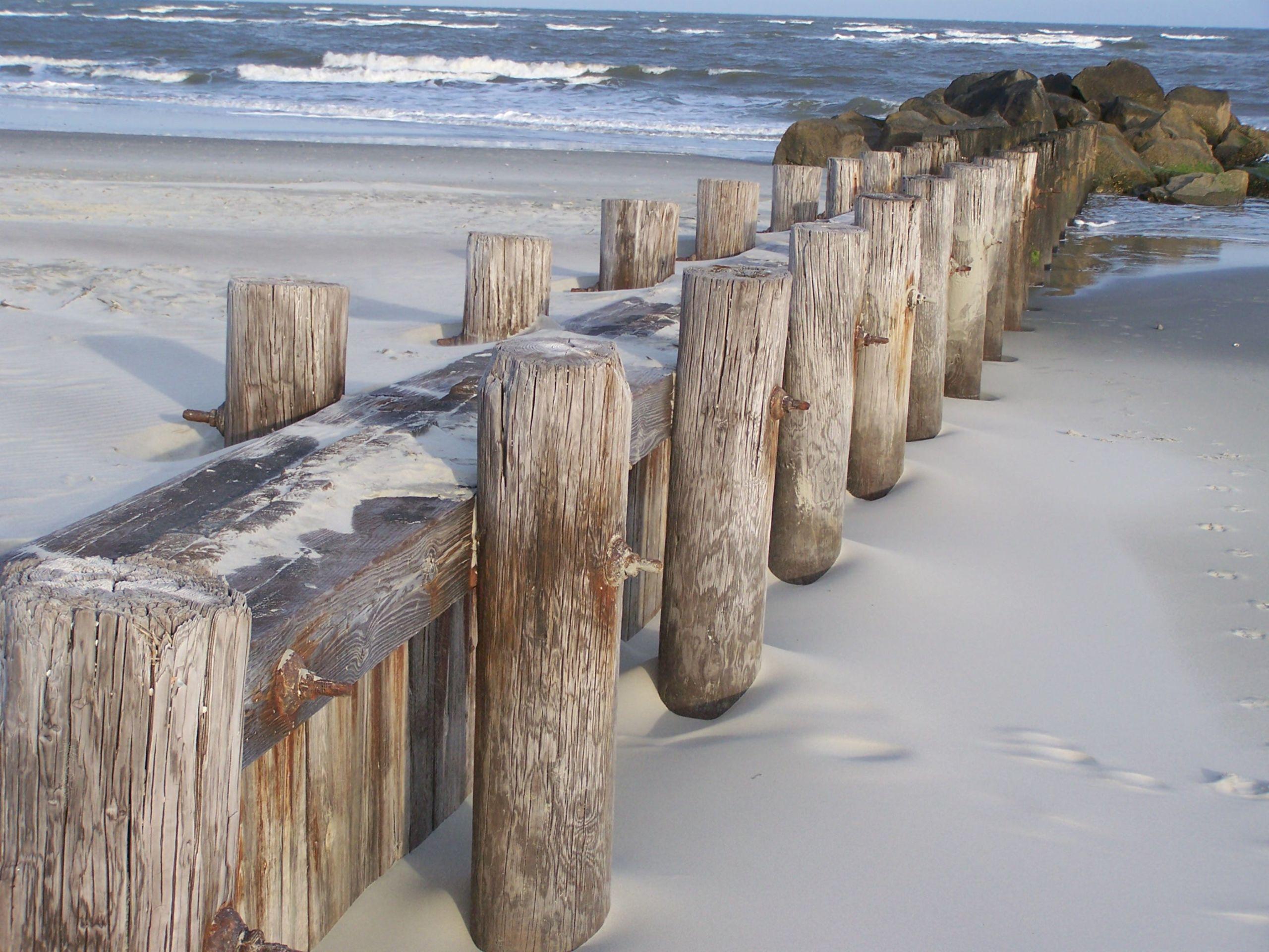 Folly Beach Jetties