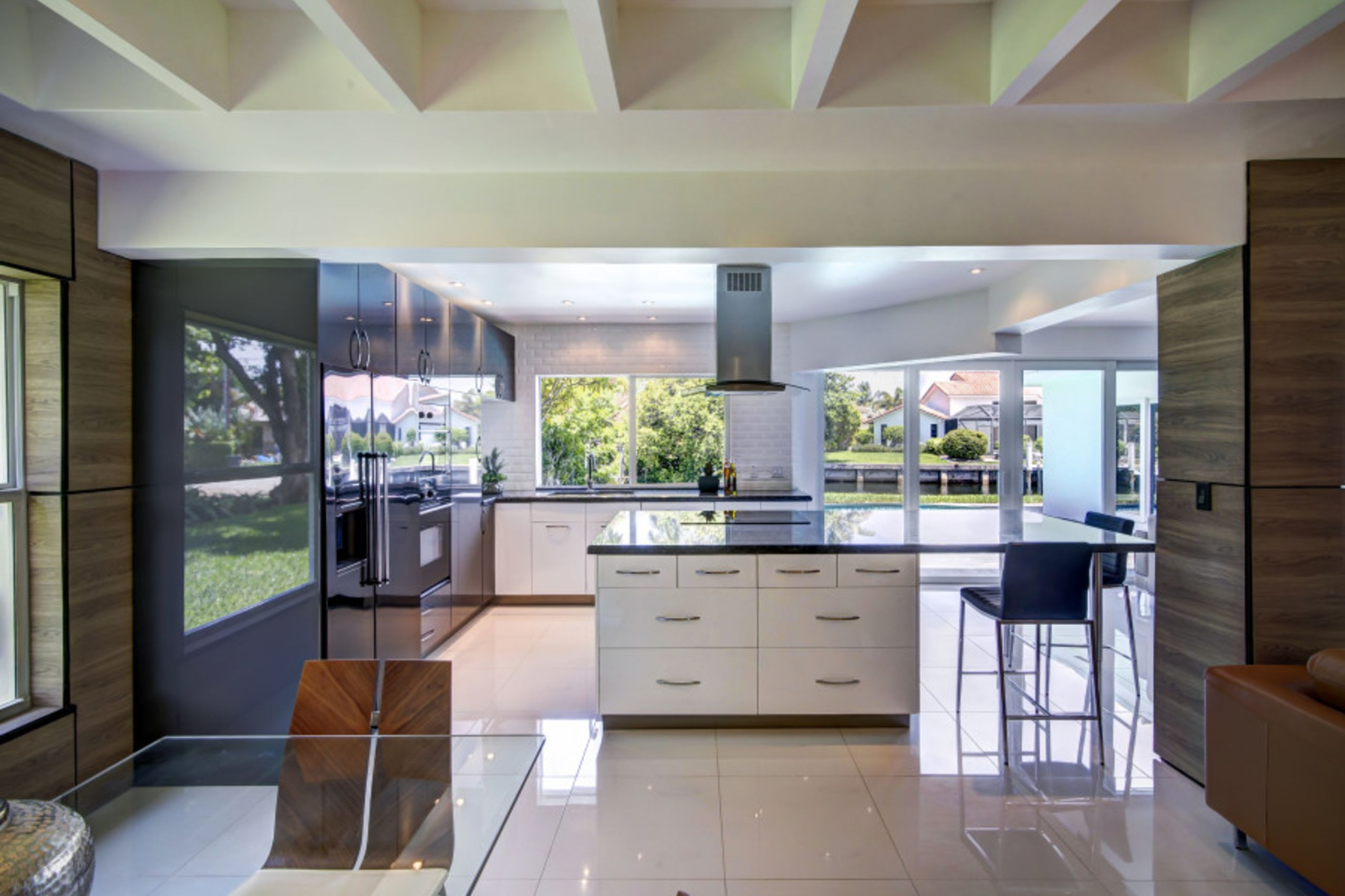 Experience cooking in state of the art kitchen
