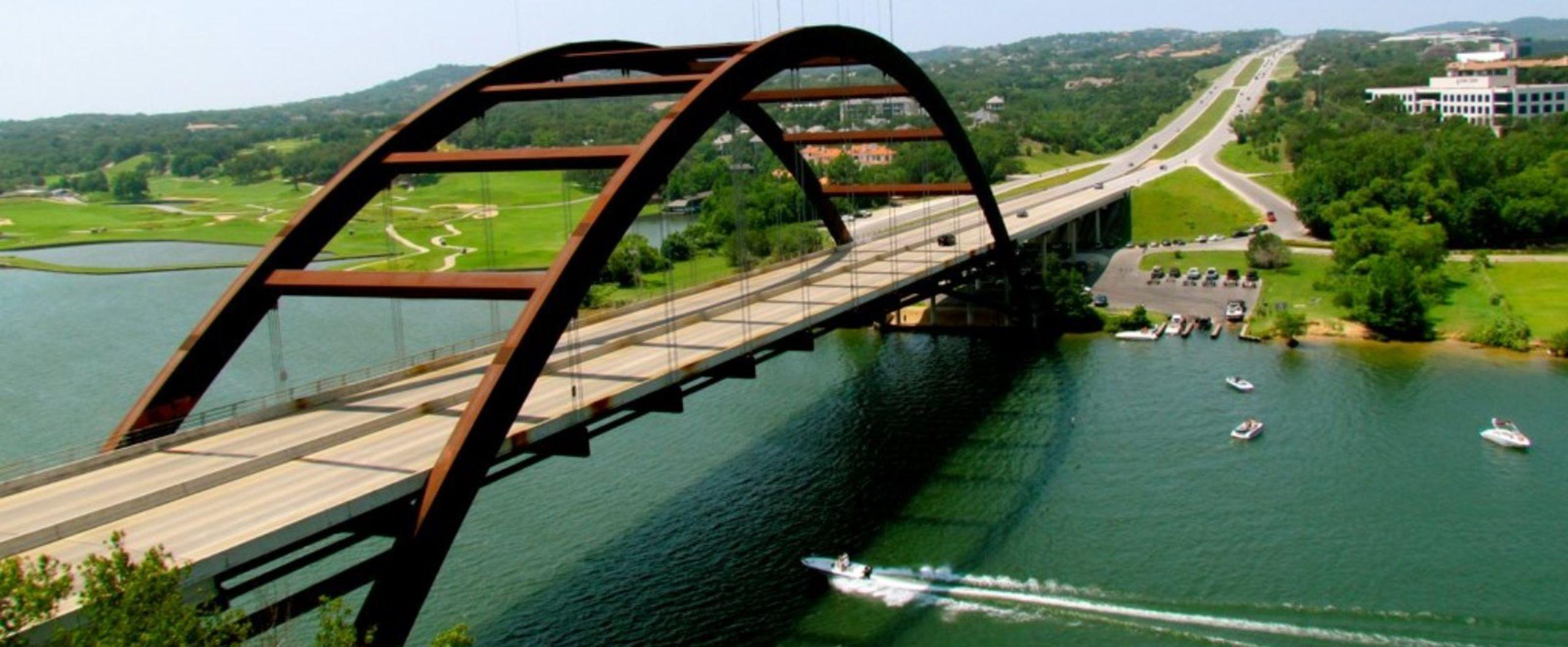 Austin Pennybacker Bridge Photo Courtesy of Jeff Gunn, Atlanta, USA