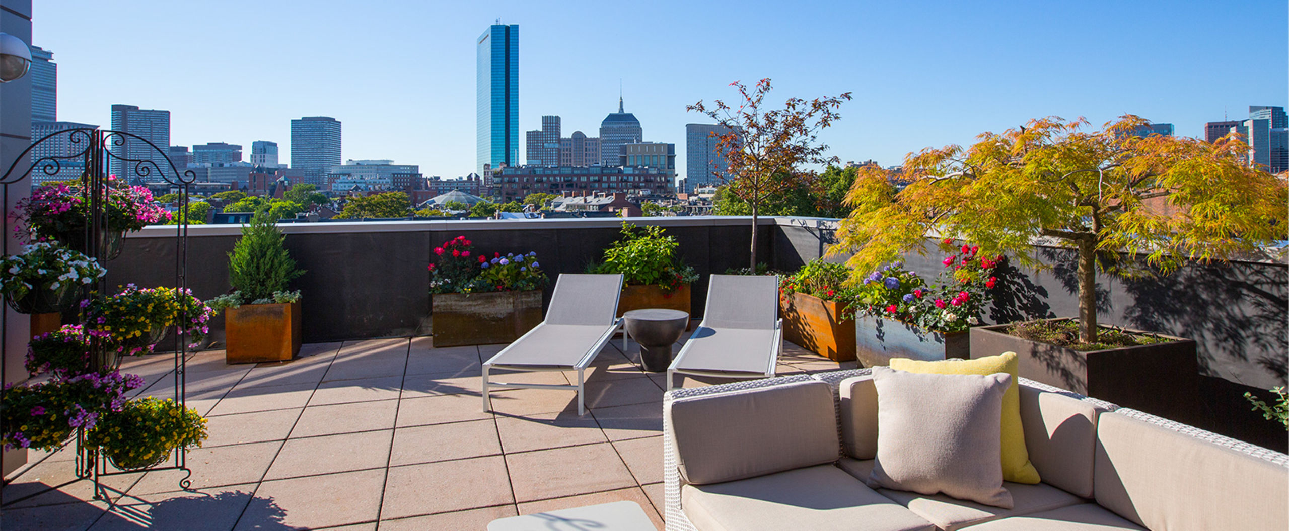 Wilkes Passage with the Most Spectacular Terrace in Boston