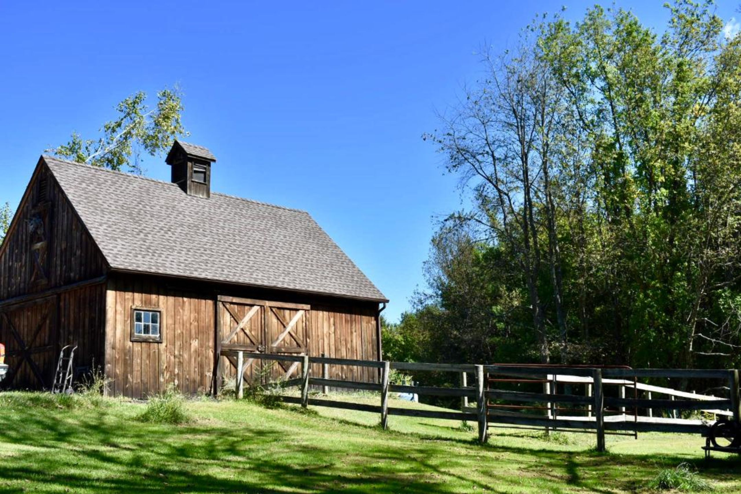 Backyard Barns and Hobby Farms