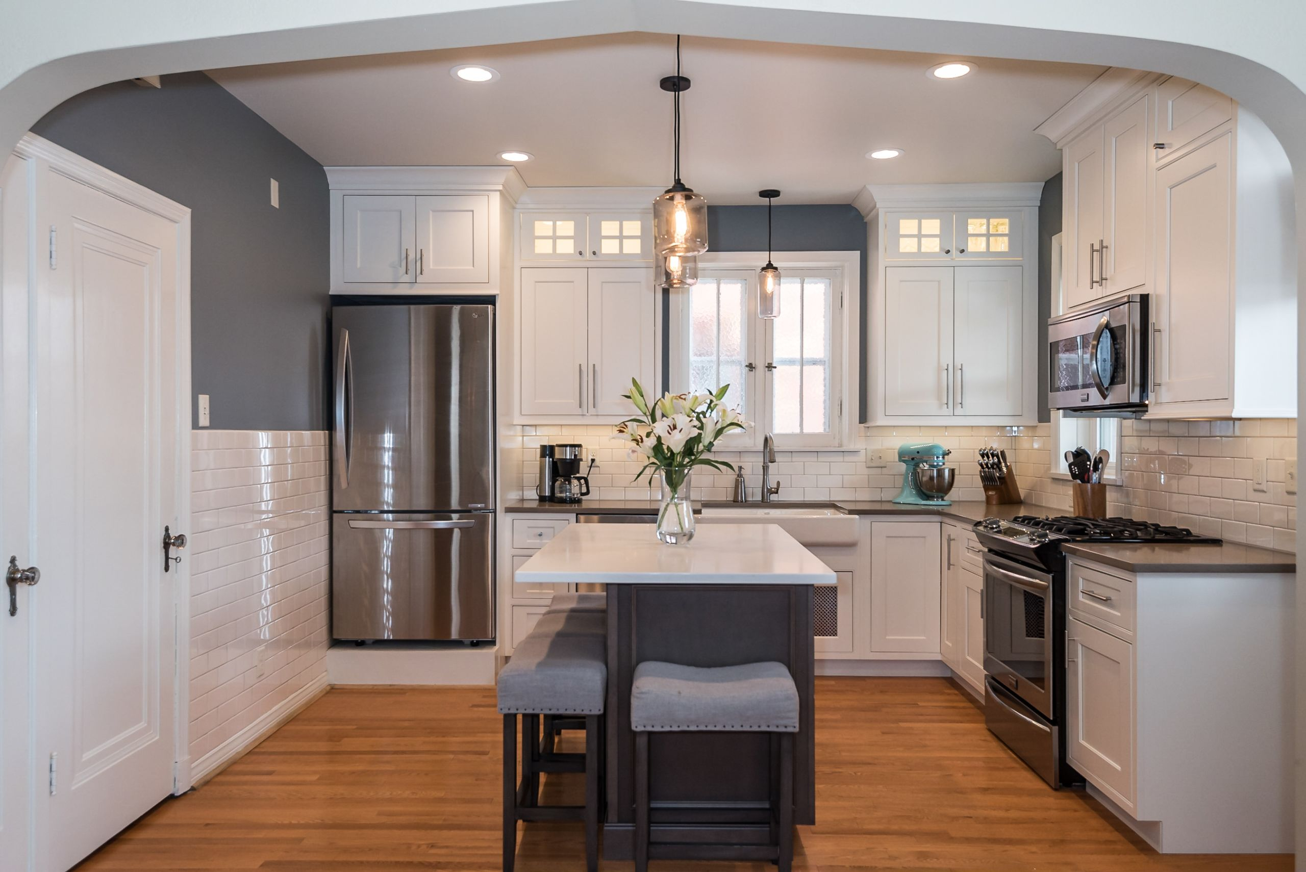 A gorgeous renovated kitchen in St. Louis Hills