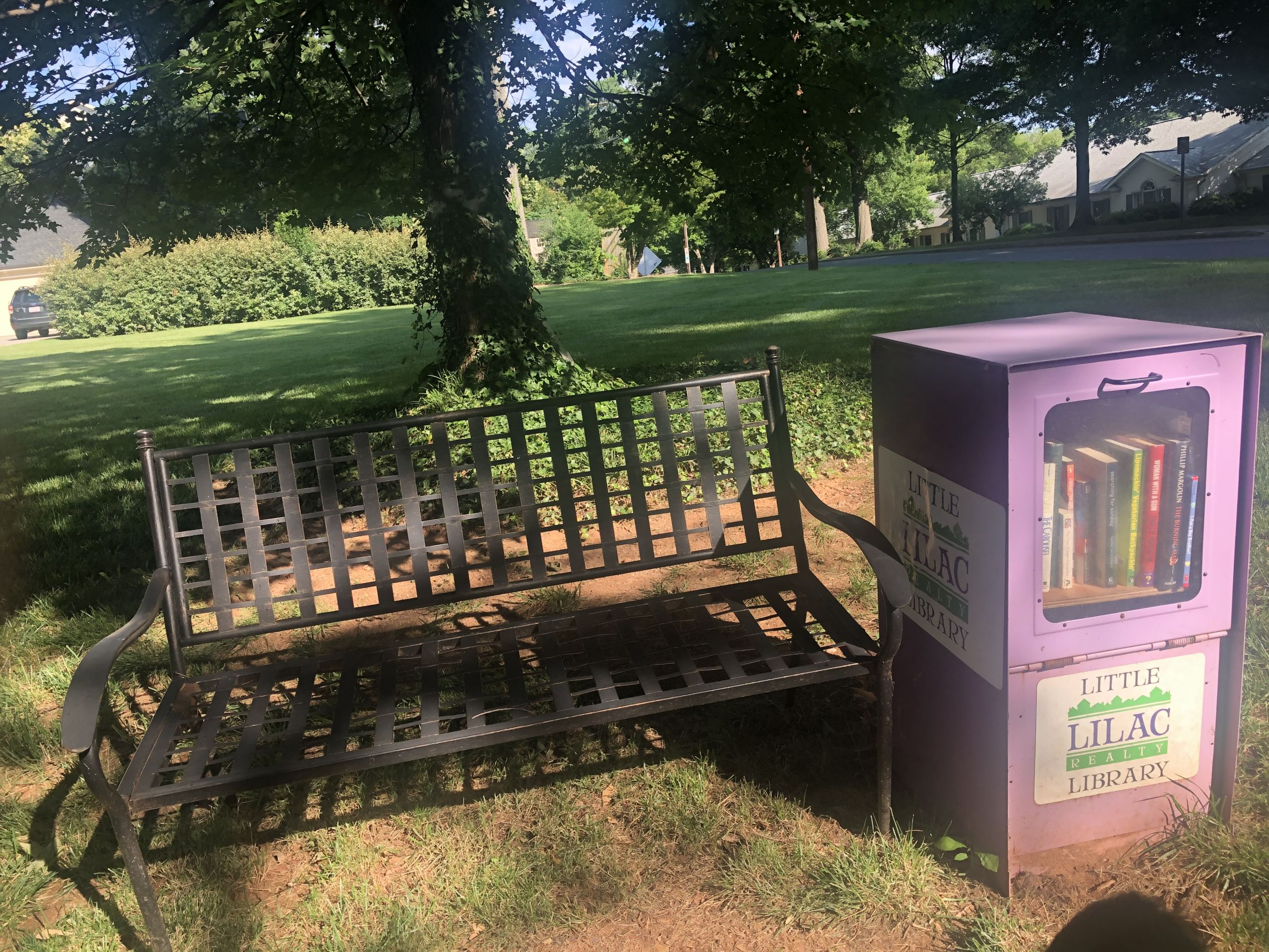 We have several Little Libraries all over Clt!
