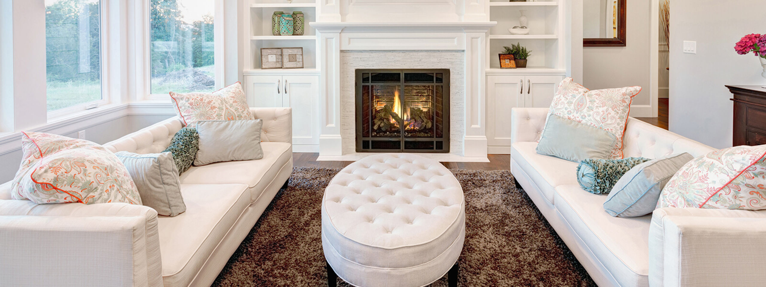 Cozy spaces to entertain
