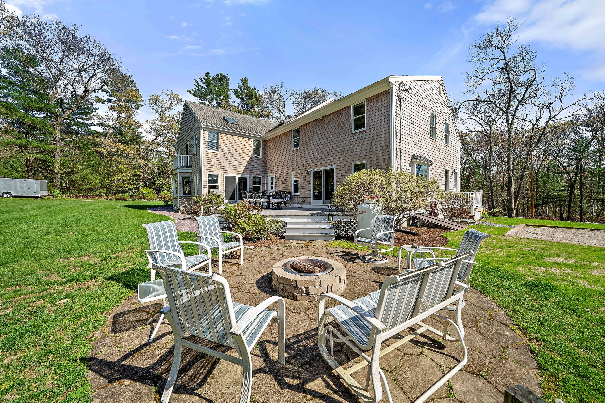 Stunning outdoor area at 92 Neal Gate St. Scituate, Ma. 02066