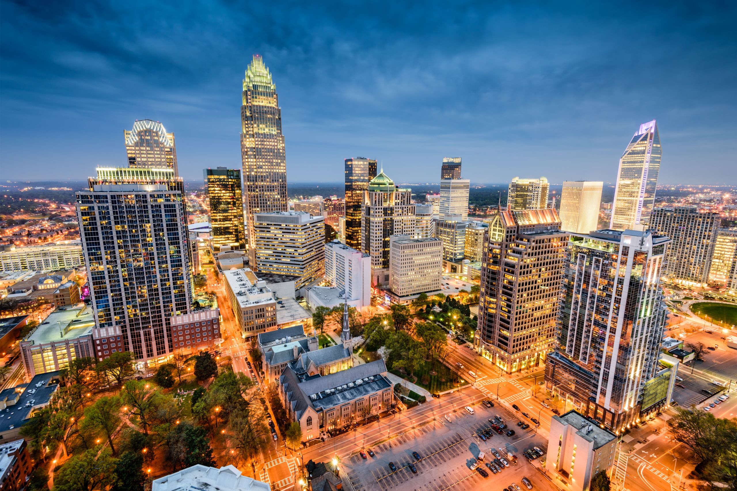 Charlotte, North Carolina....              The Queen City