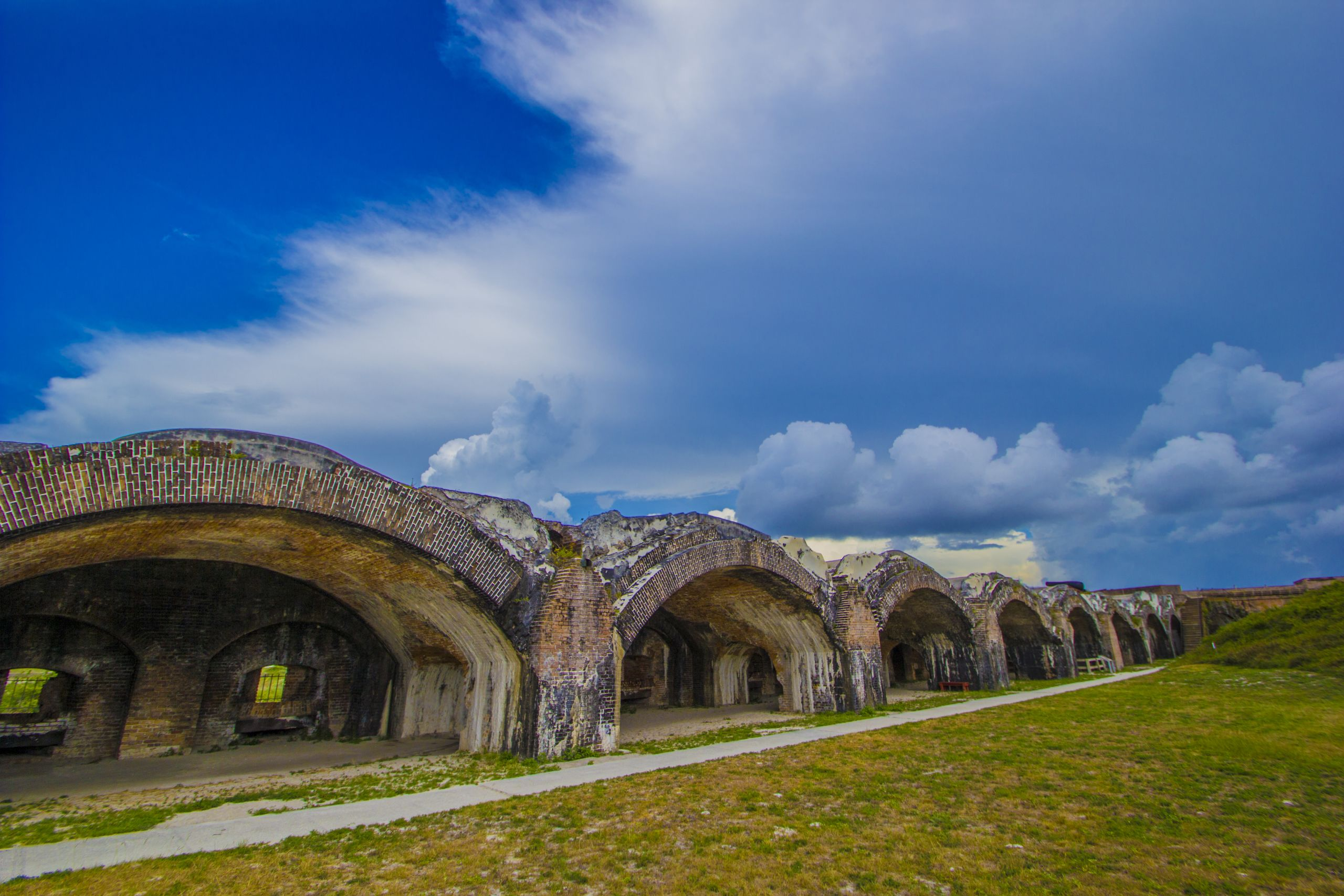 Fort Pickens on Santa Rosa Island