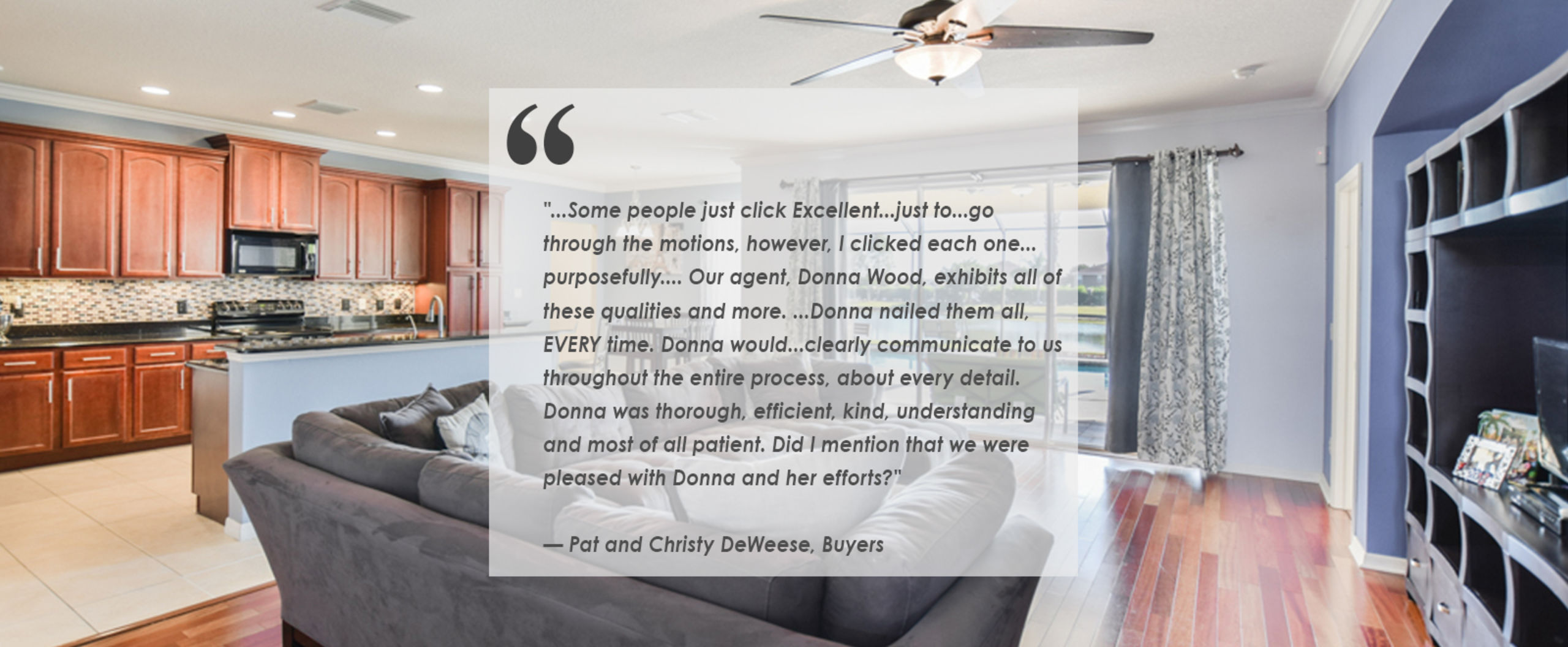 Click for more testimonials!