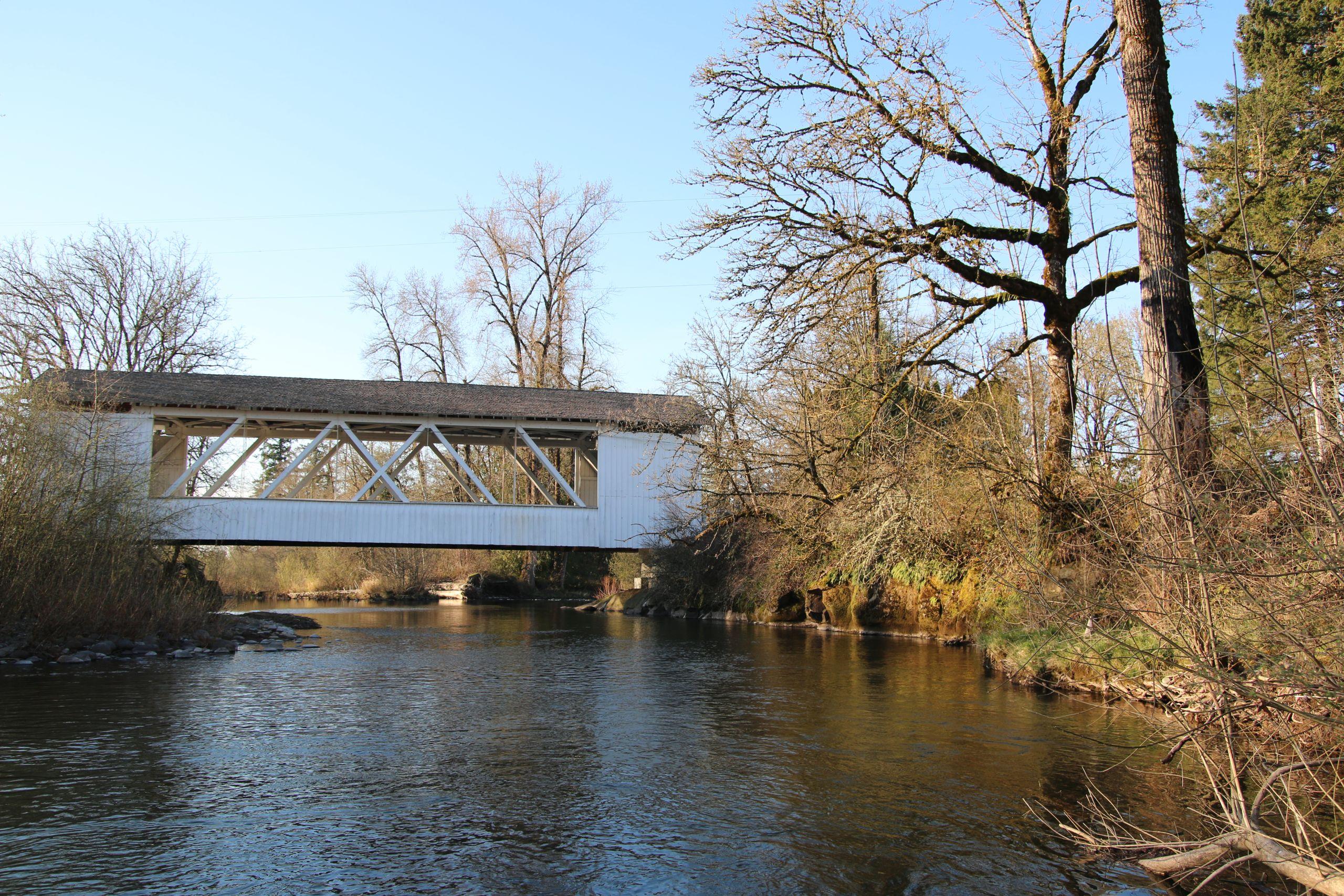 Larwood Bridge, Scio Or