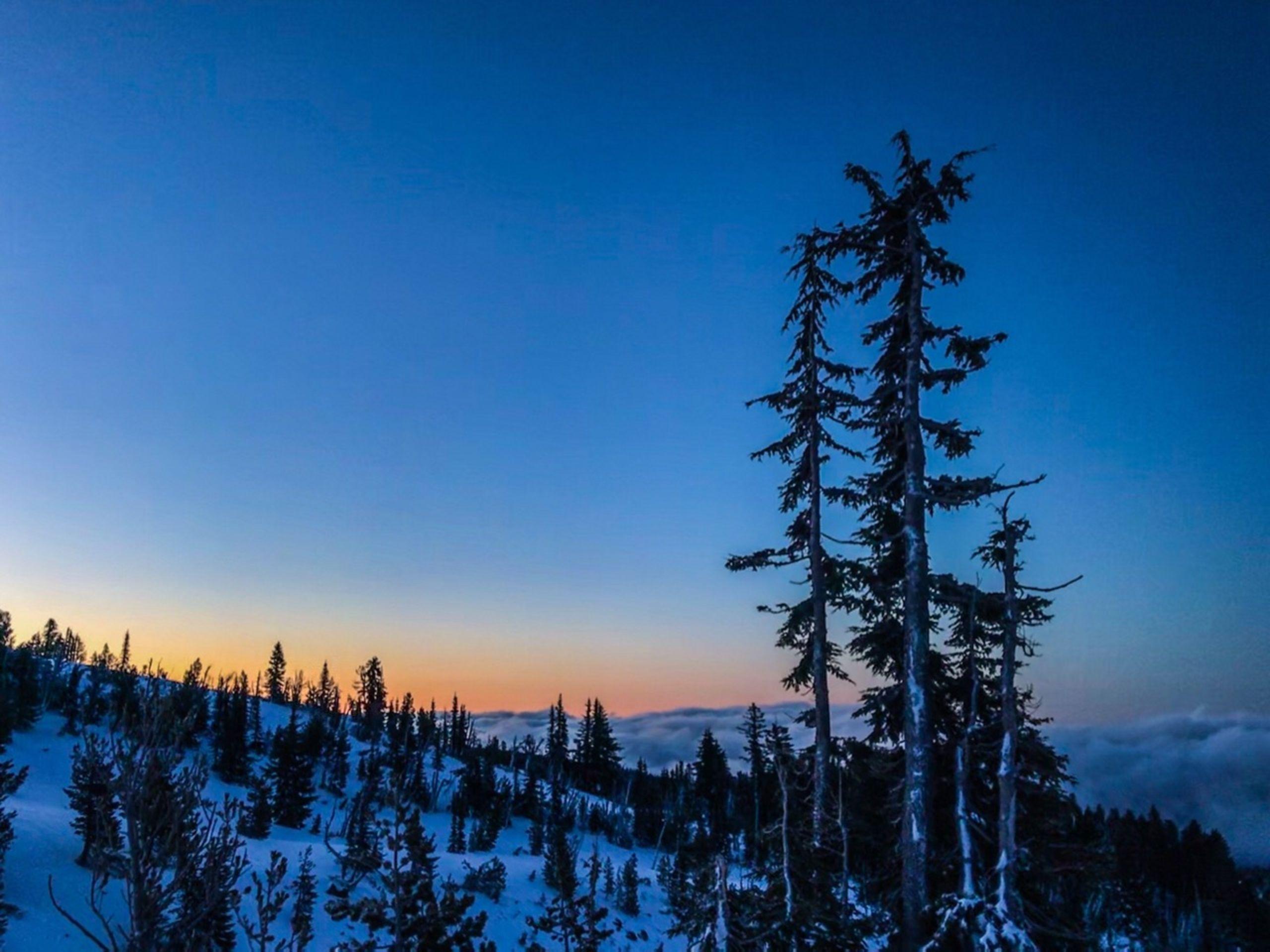 Sunrise from Mt Hood, Oregon