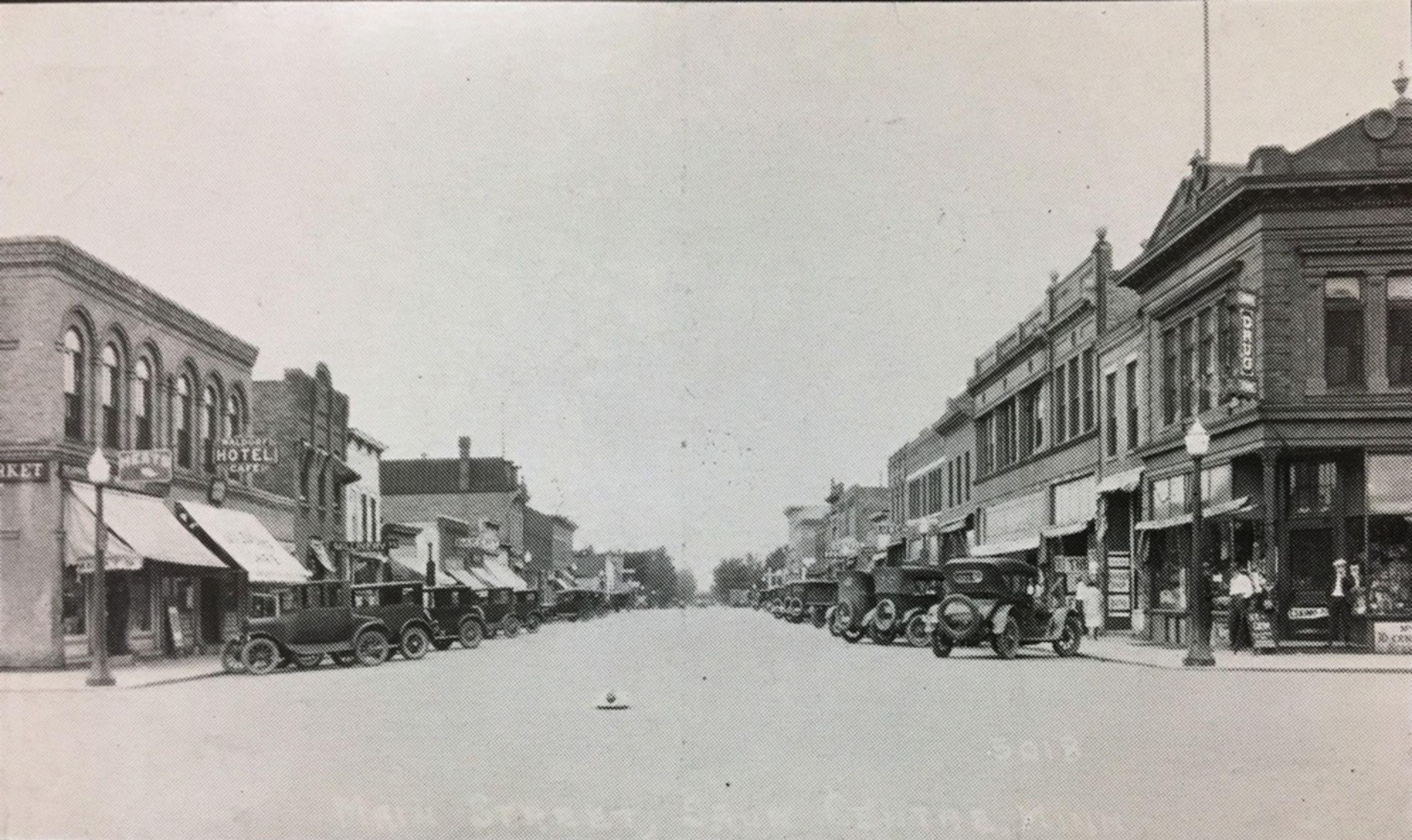 View Of Main Street South, Sauk Centre
