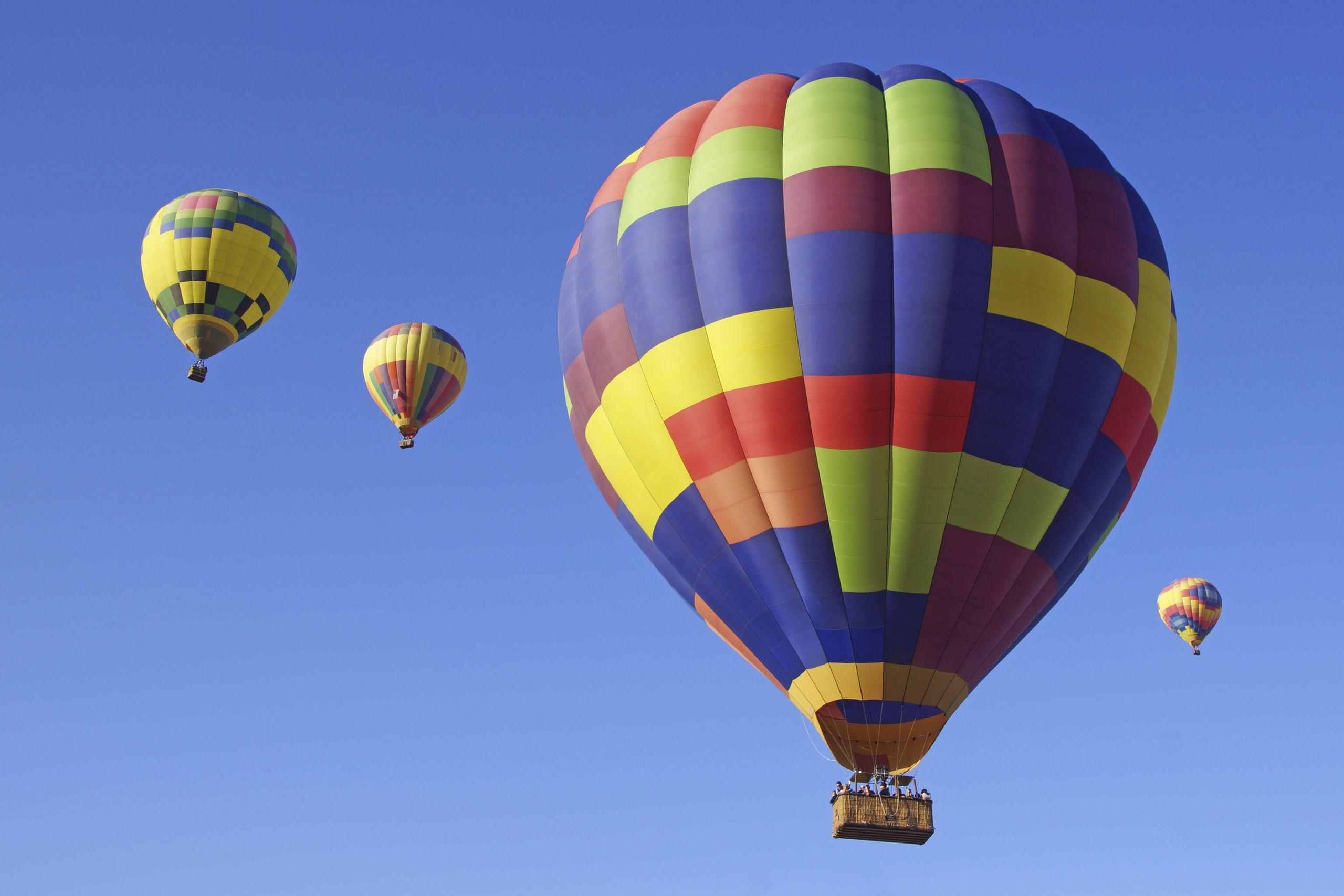 Ready for a hot air balloon ride?
