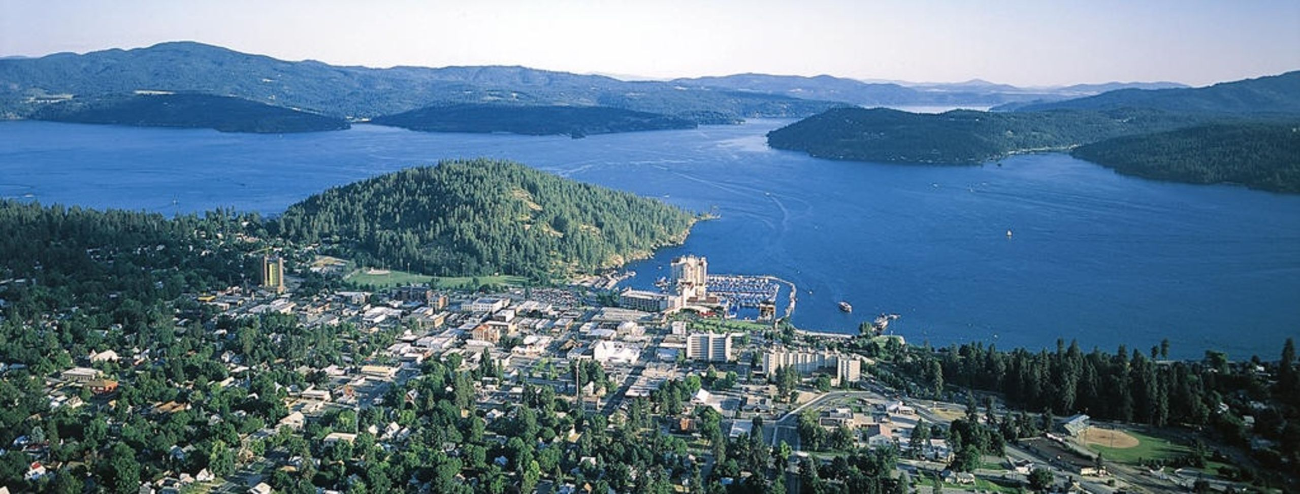 Beautiful Lake Coeur d'Alene, Idaho!