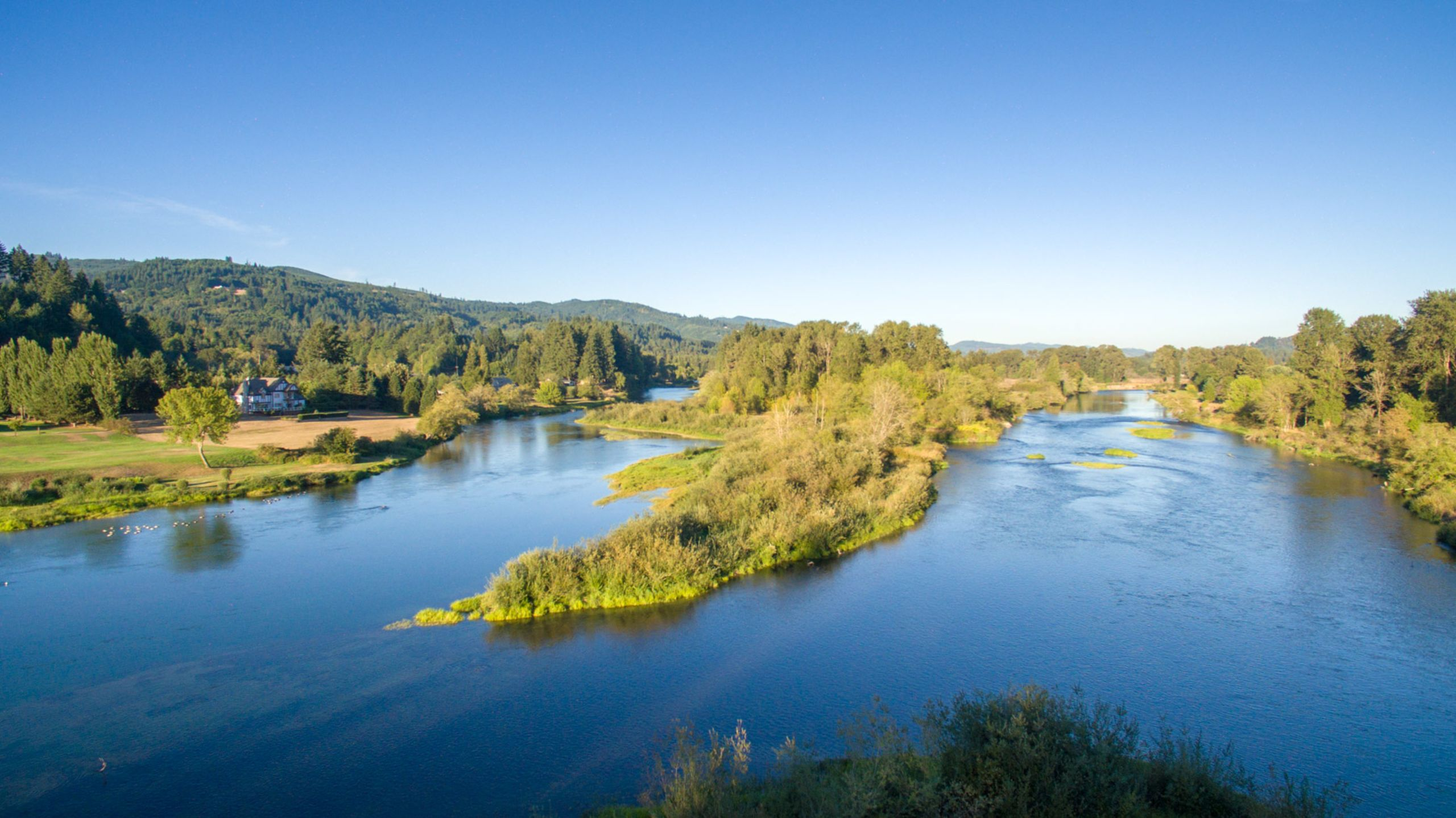 Pristine North Fork of the Lewis River