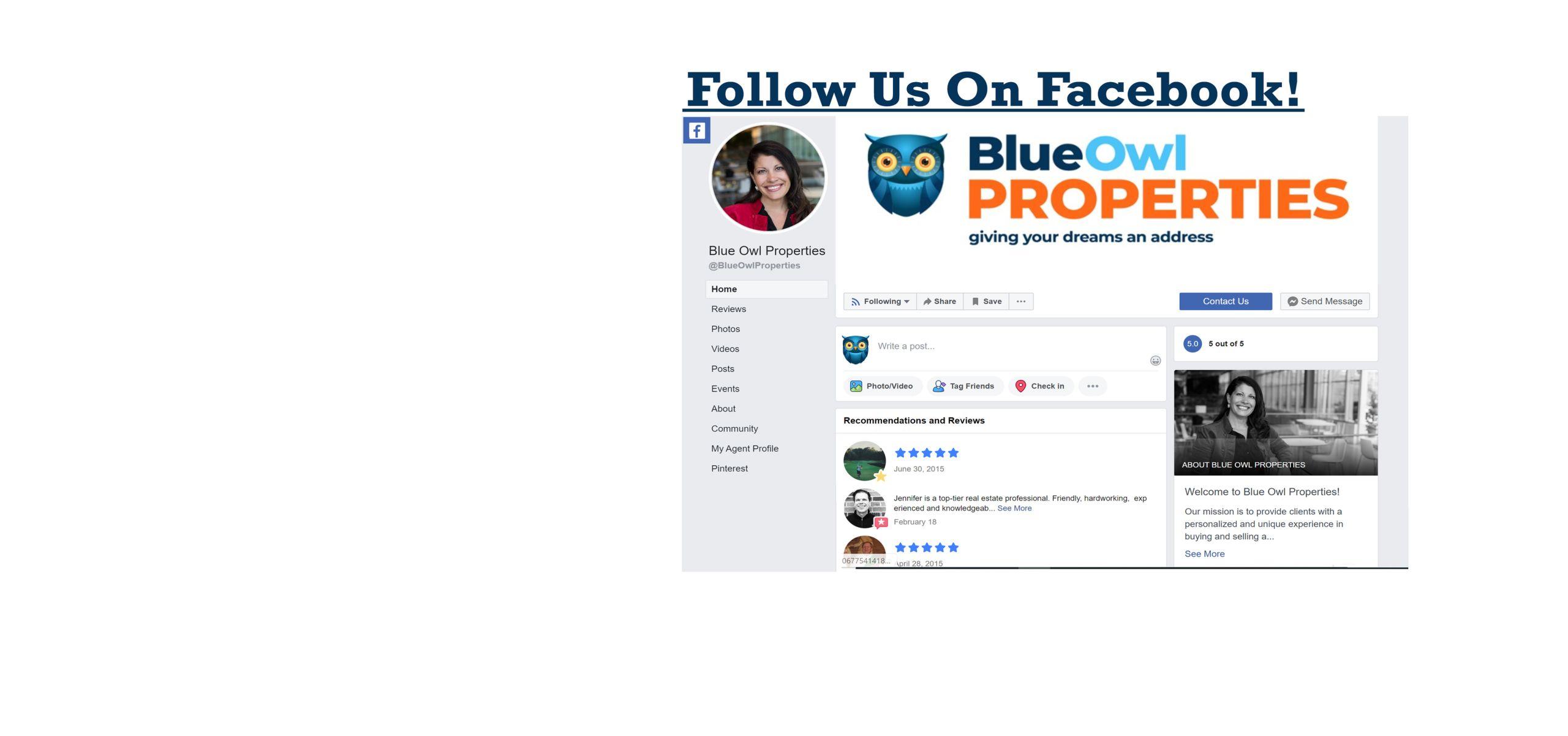 Find Our Facebook