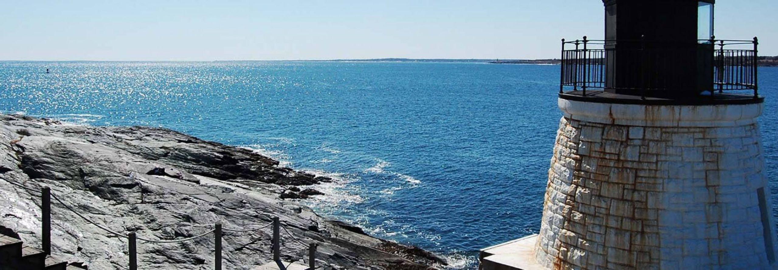 Rhode Islands Beautiful Shore Line