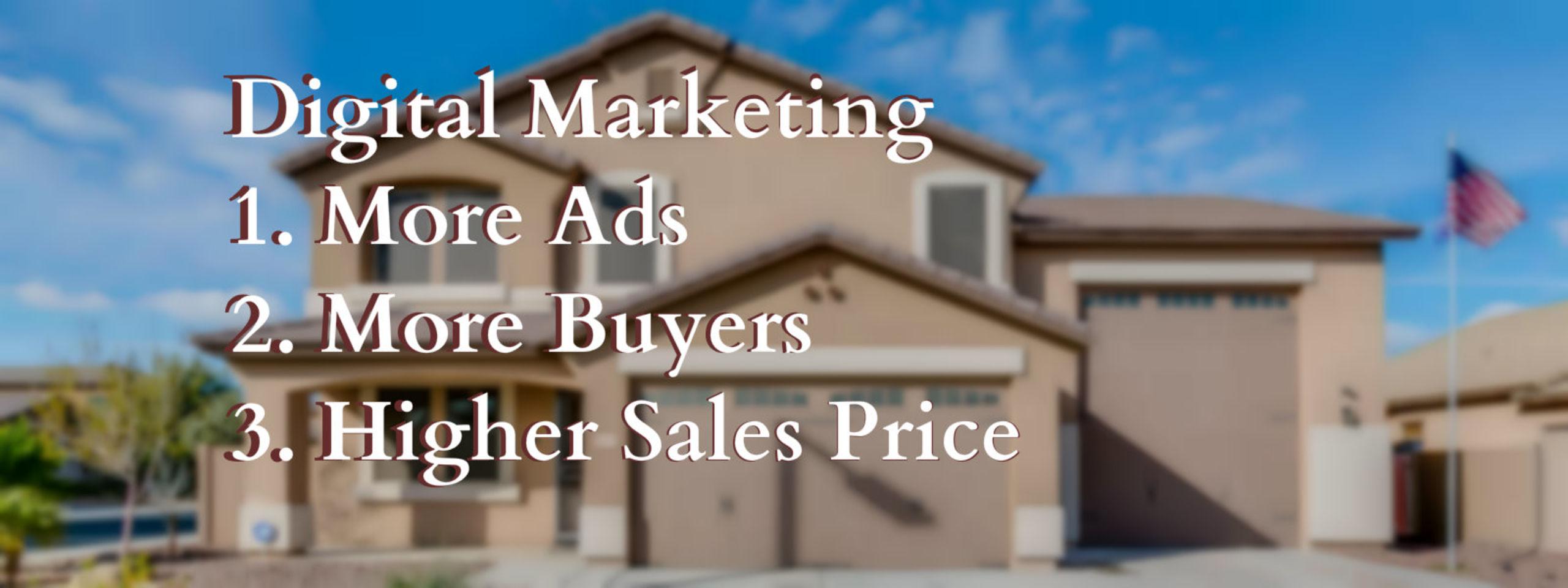 Modern Digital Marketing of Your AZ Home
